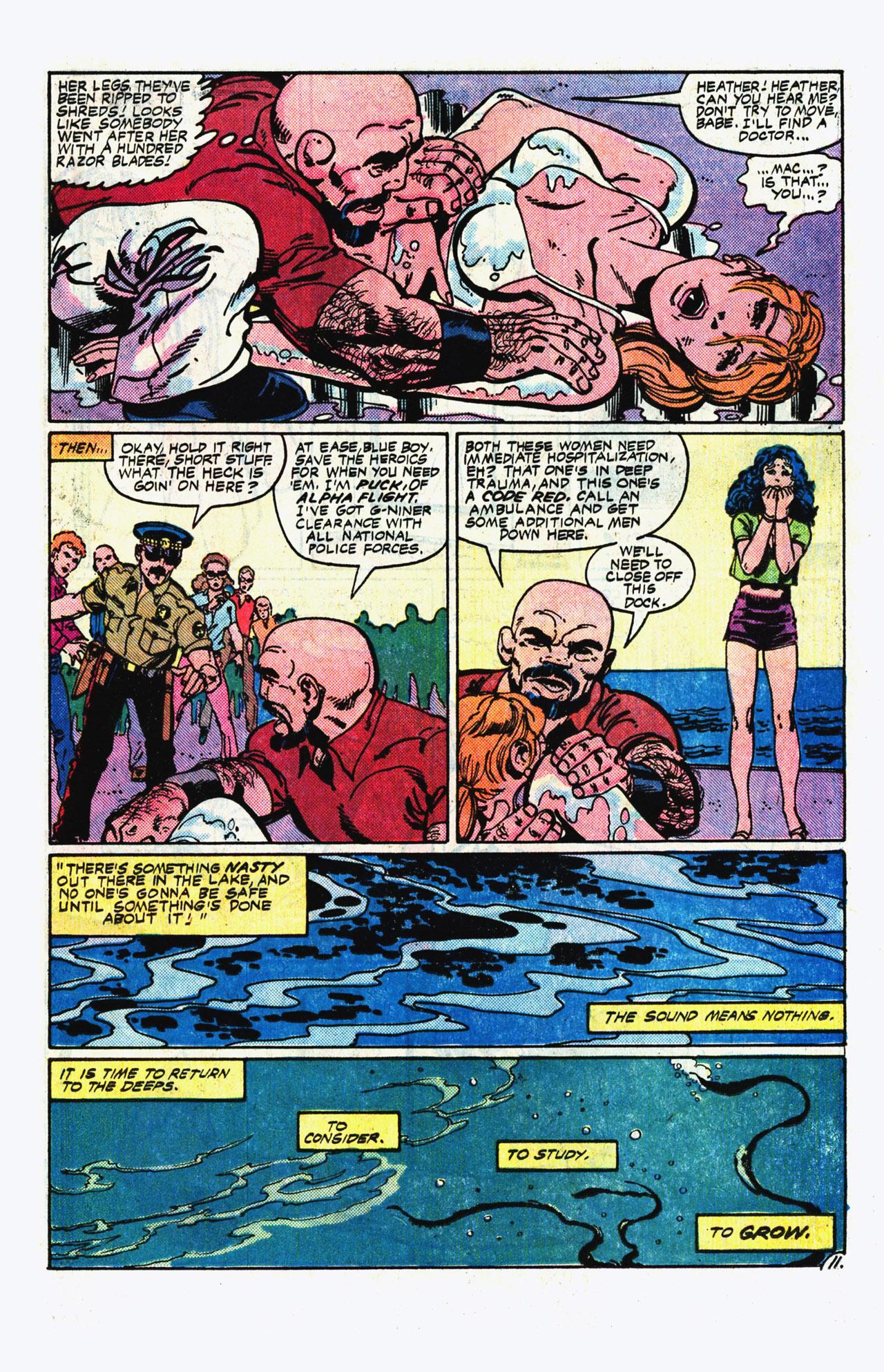 Alpha Flight (1983) 14 Page 11
