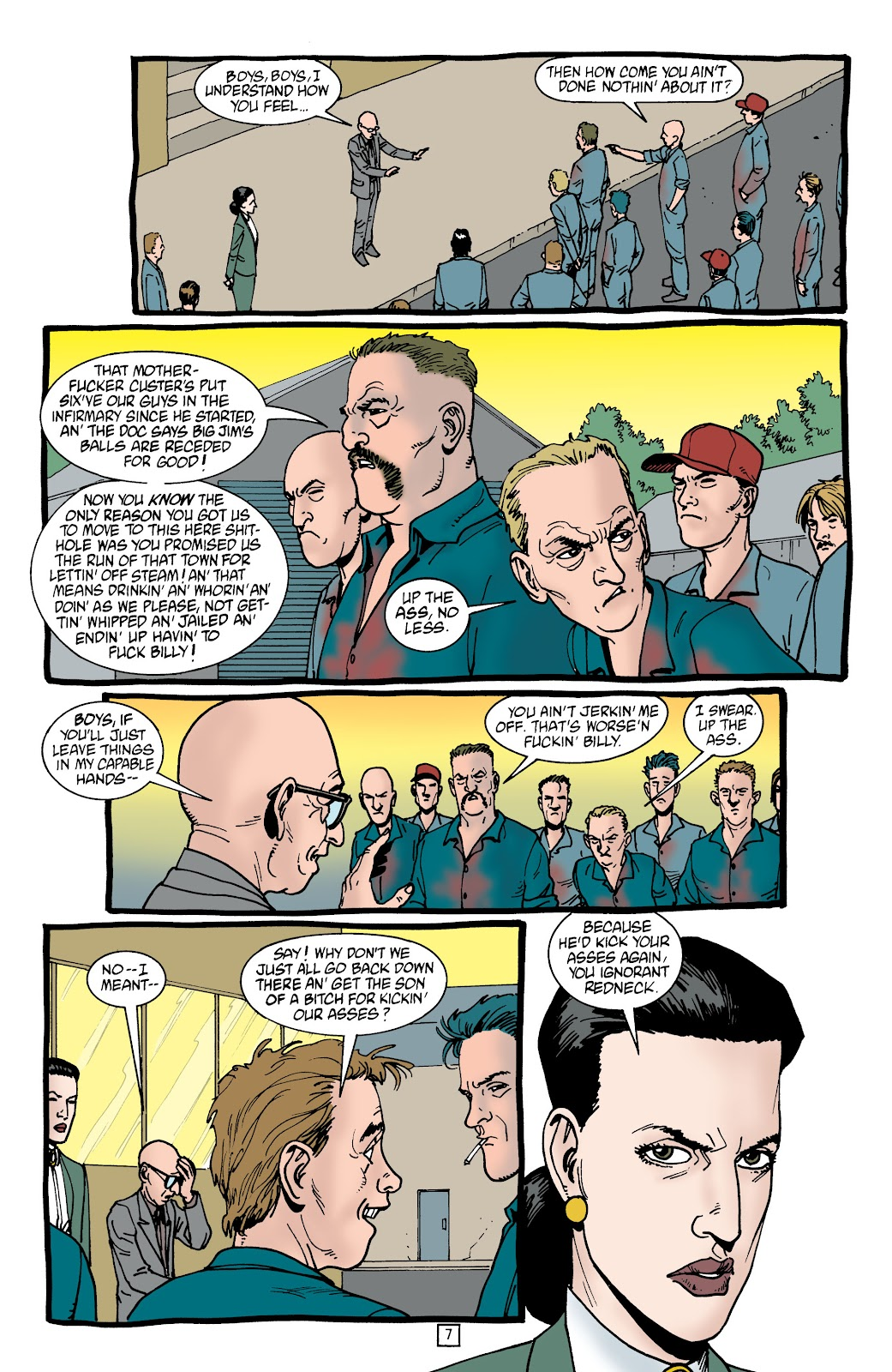 Preacher Issue #45 #54 - English 8