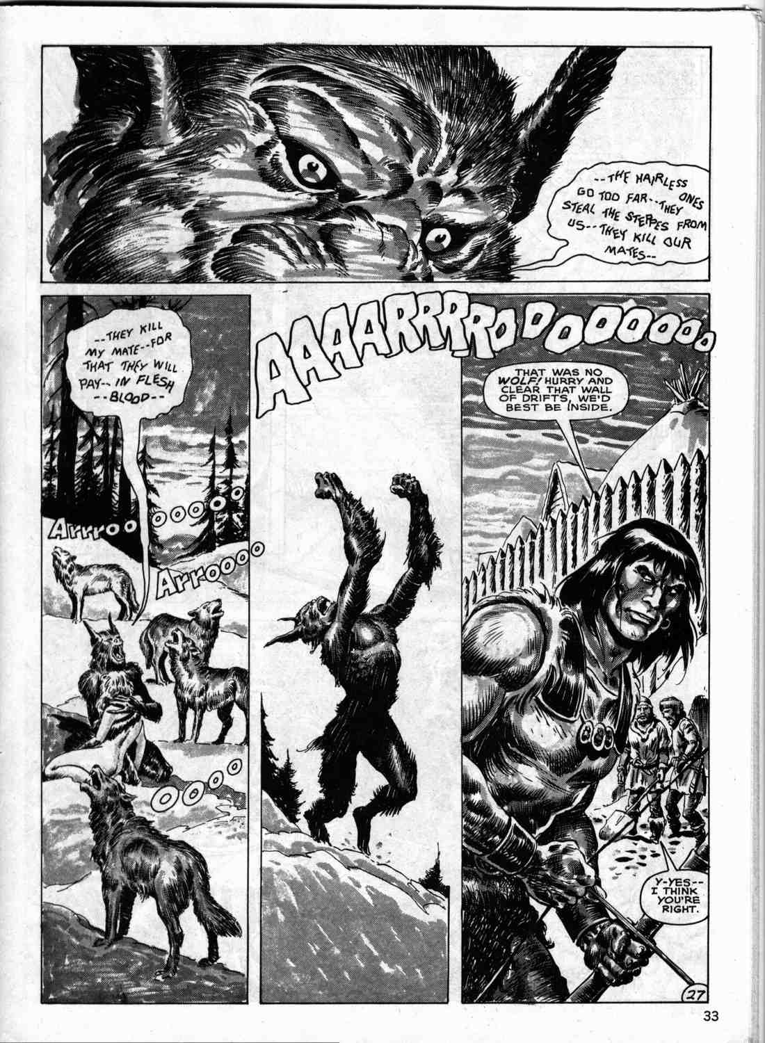 The Savage Sword Of Conan Issue #133 #134 - English 32
