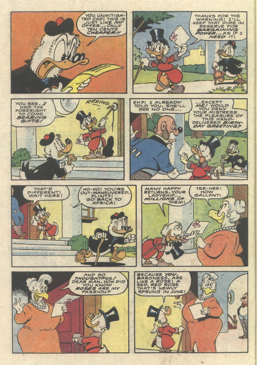 Uncle Scrooge (1953) Issue #225 #225 - English 6