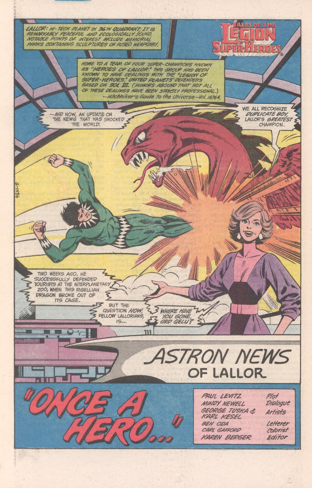 Tales of the Legion Issue #317 #4 - English 20
