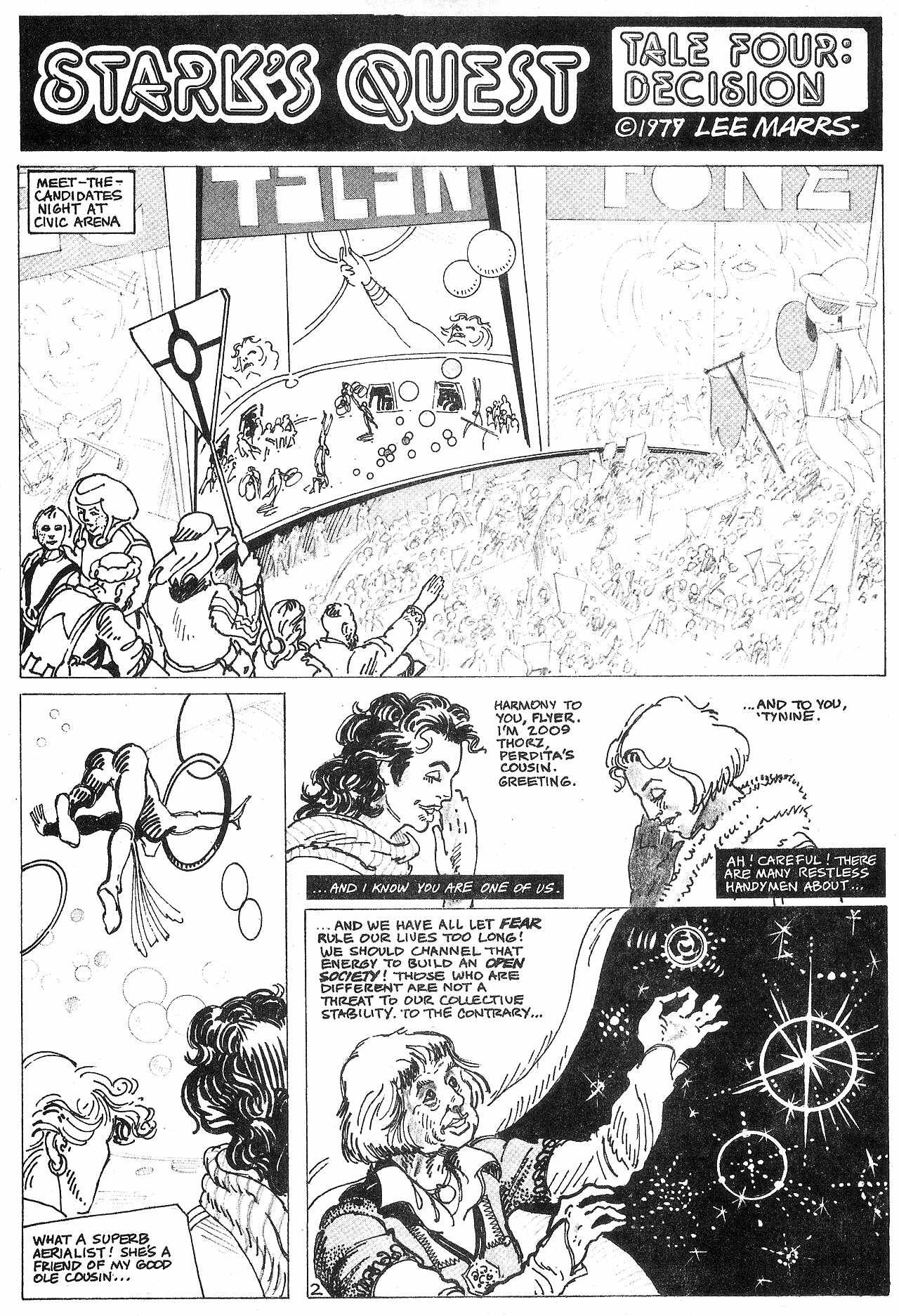 Read online Star*Reach comic -  Issue #18 - 5