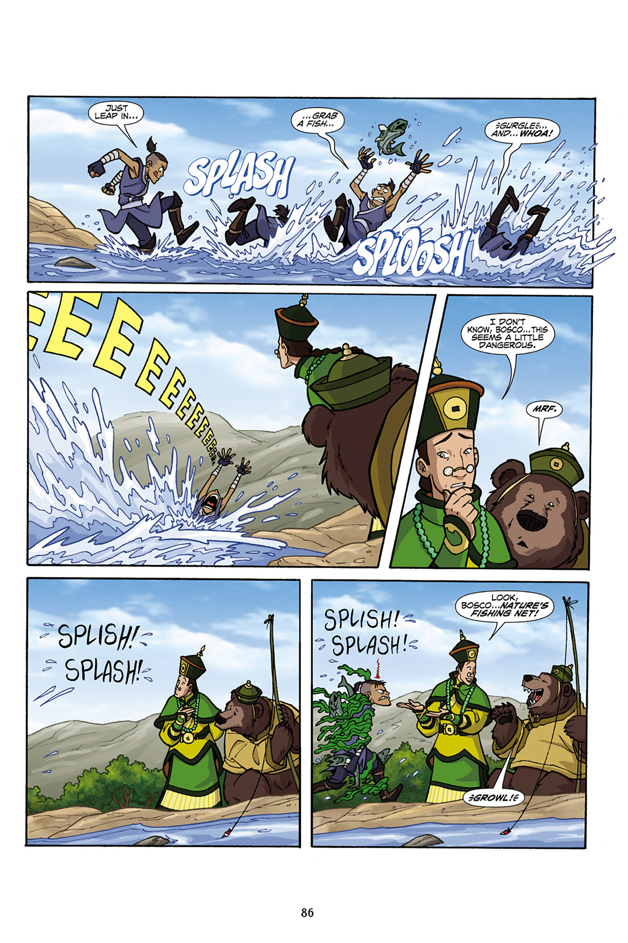 Nickelodeon Avatar: The Last Airbender - The Lost Adventures chap full pic 87