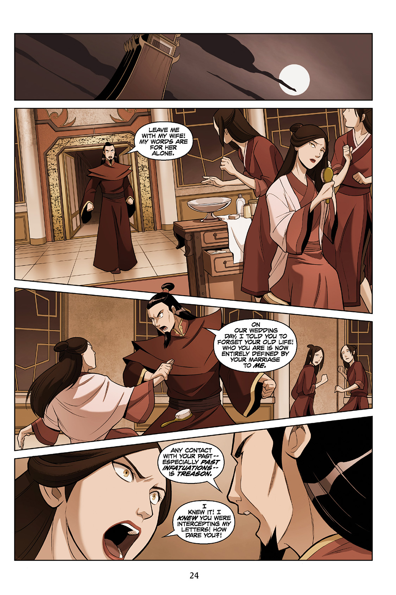 Read online Nickelodeon Avatar: The Last Airbender - The Search comic -  Issue # Part 2 - 25