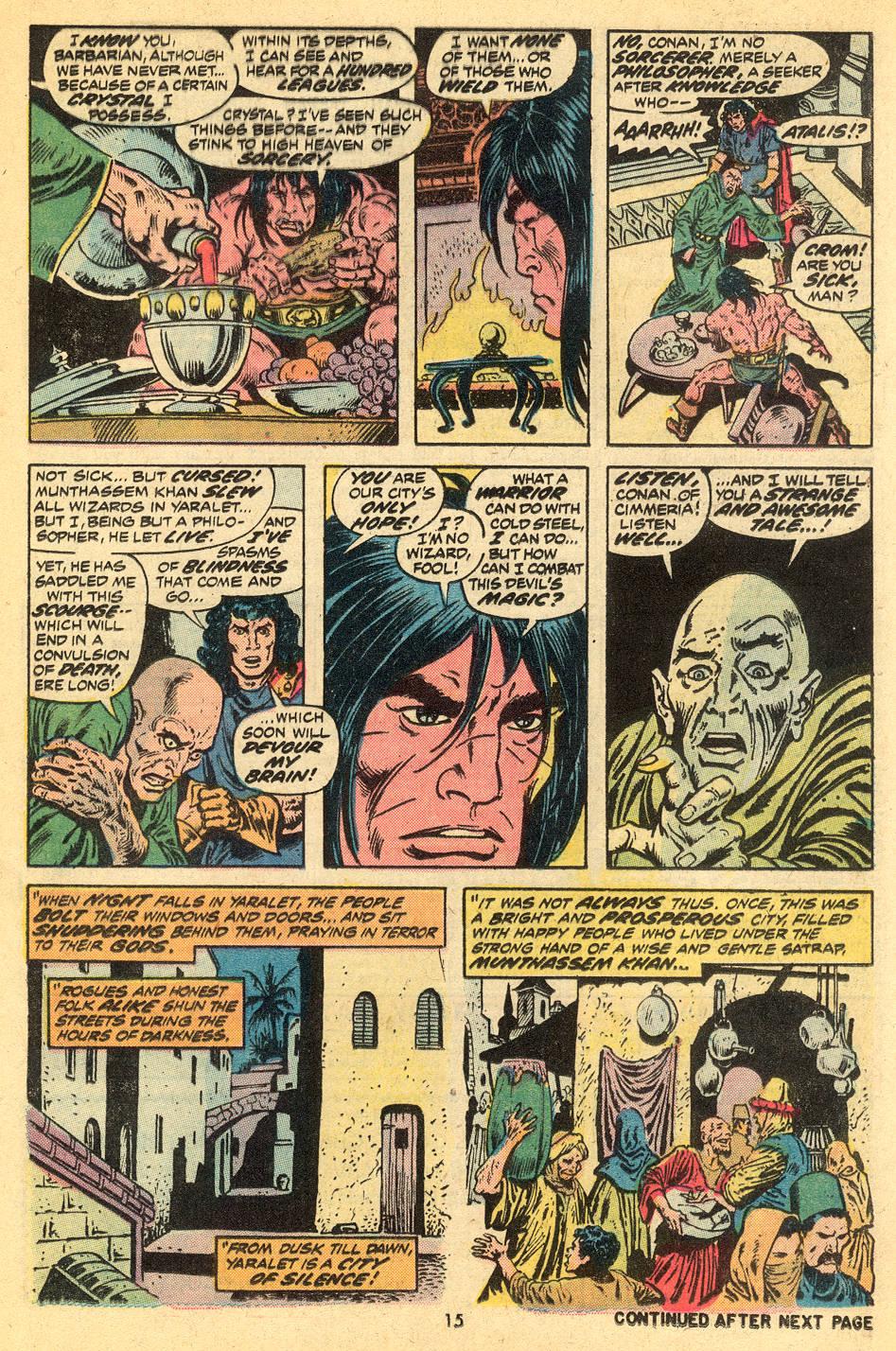 Conan the Barbarian (1970) Issue #30 #42 - English 12