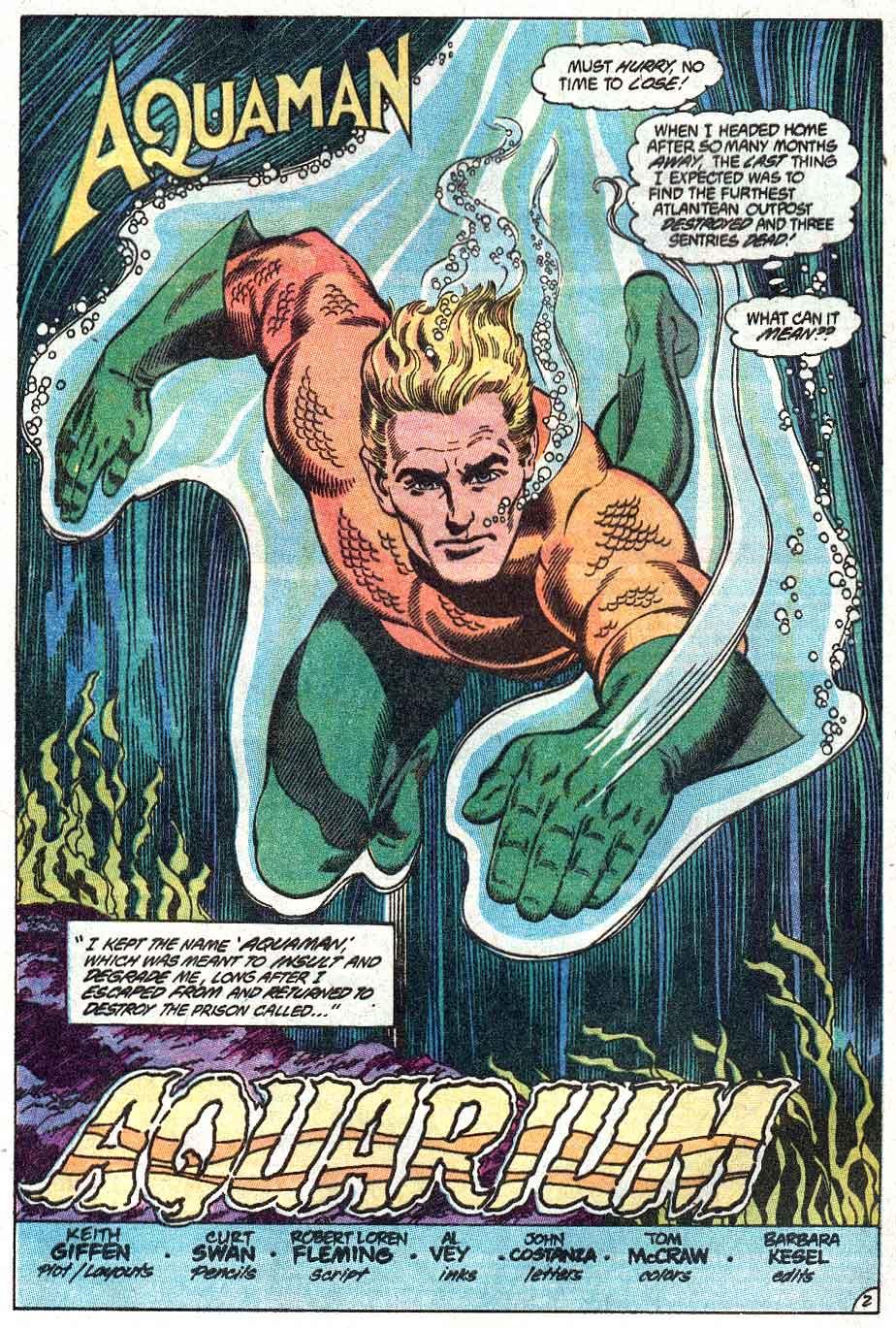 Aquaman (1989) Issue #1 #1 - English 3