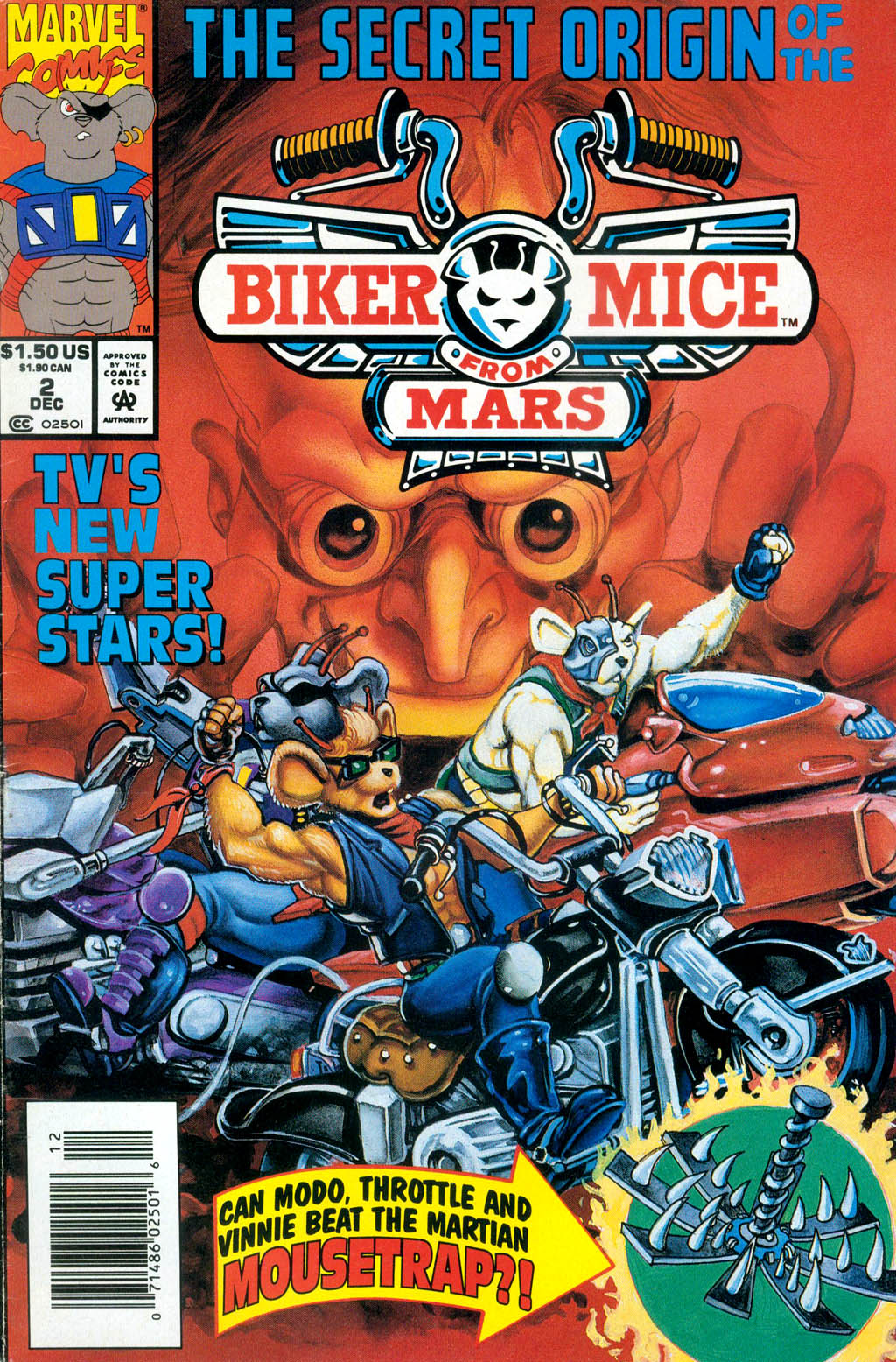 Biker Mice from Mars 2 Page 1