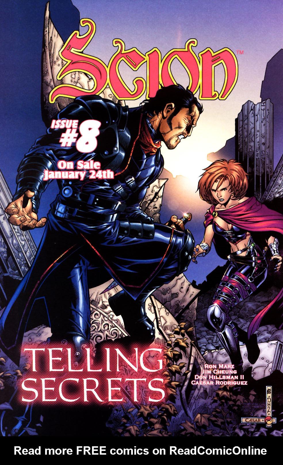 Read online Scion comic -  Issue #7 - 24