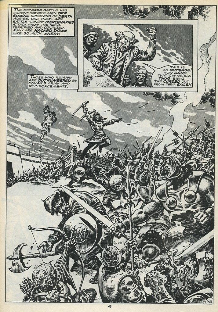 The Savage Sword Of Conan Issue #173 #174 - English 47