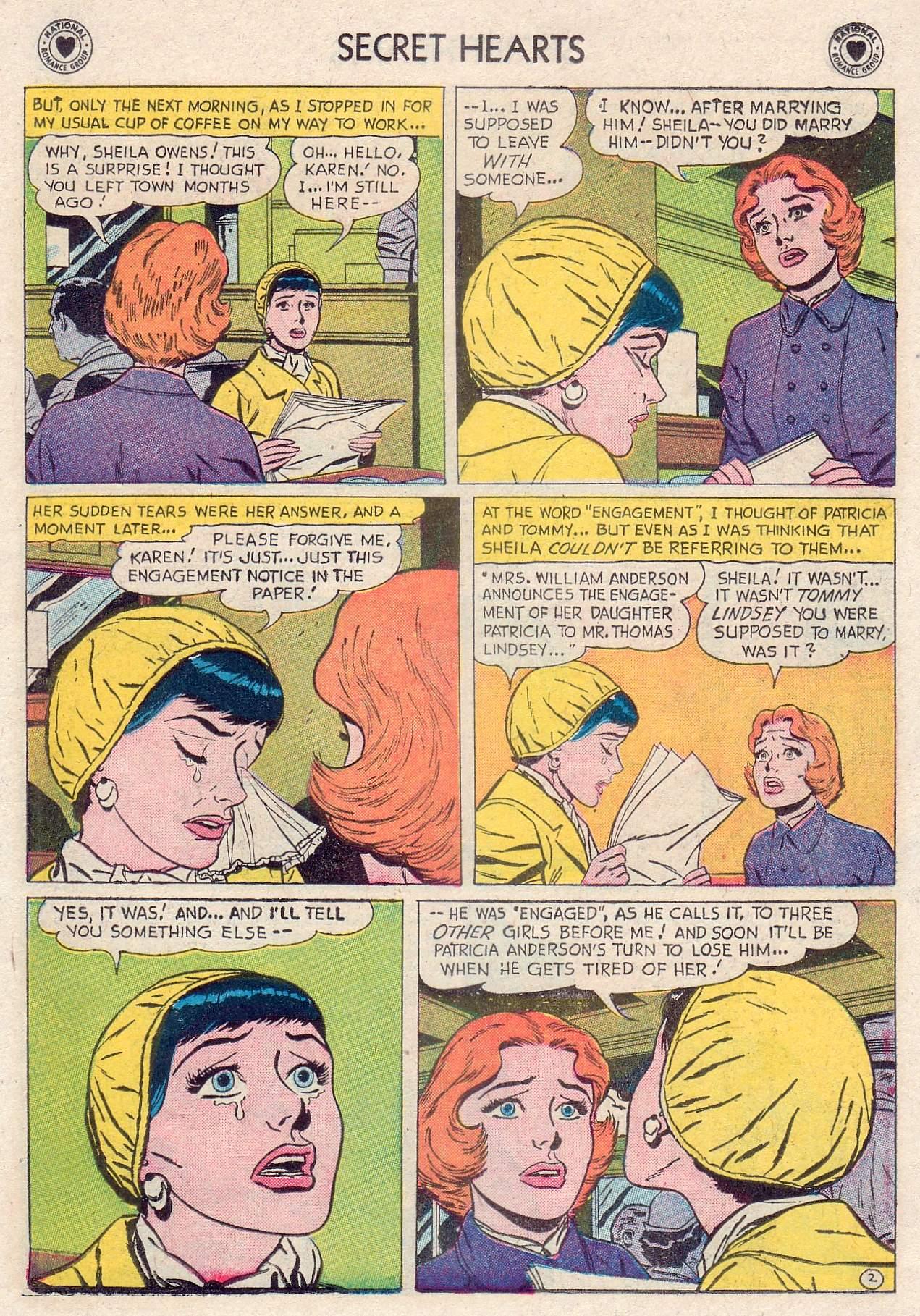 Read online Secret Hearts comic -  Issue #46 - 11