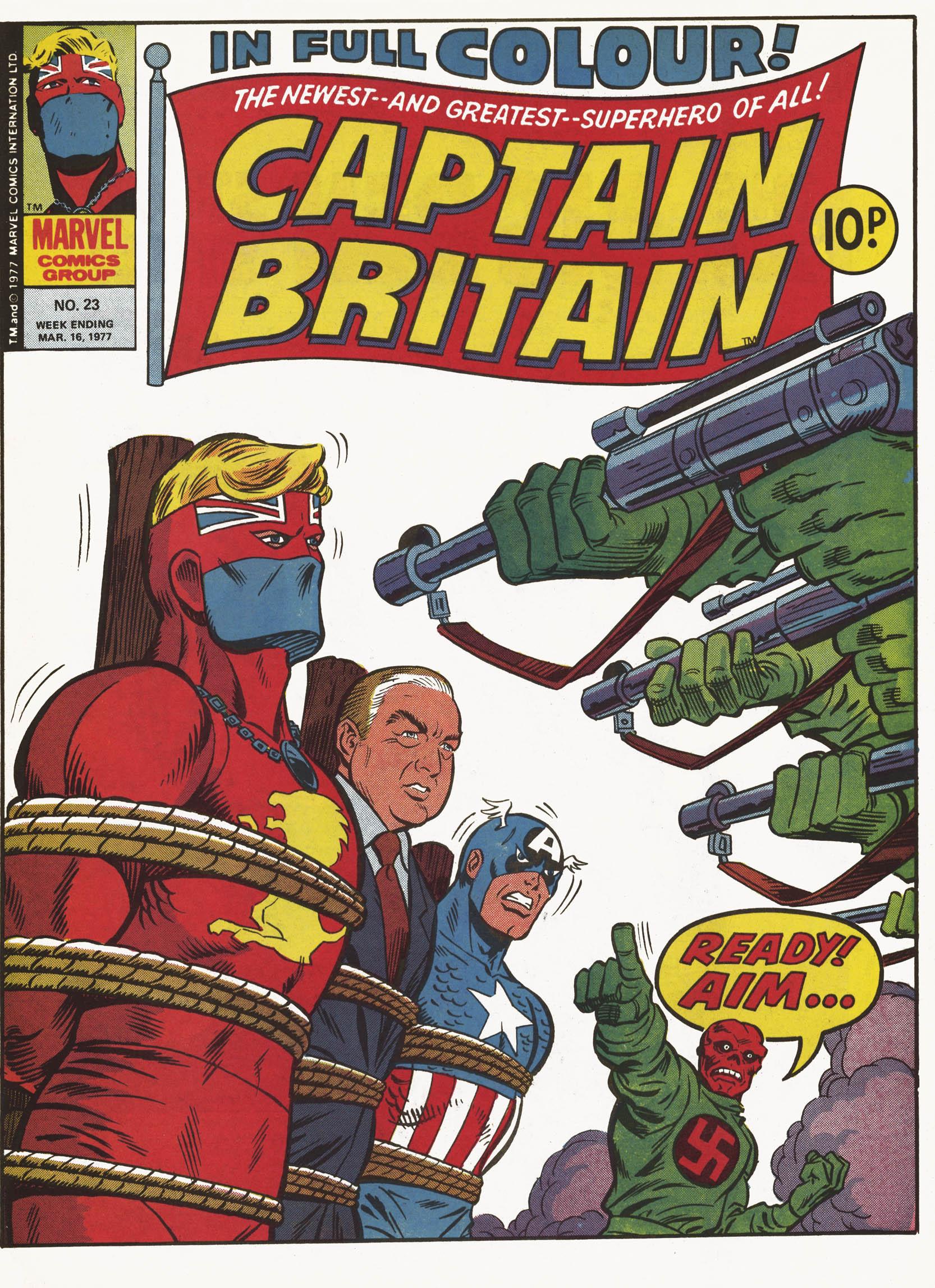Captain Britain (1976) 23 Page 1