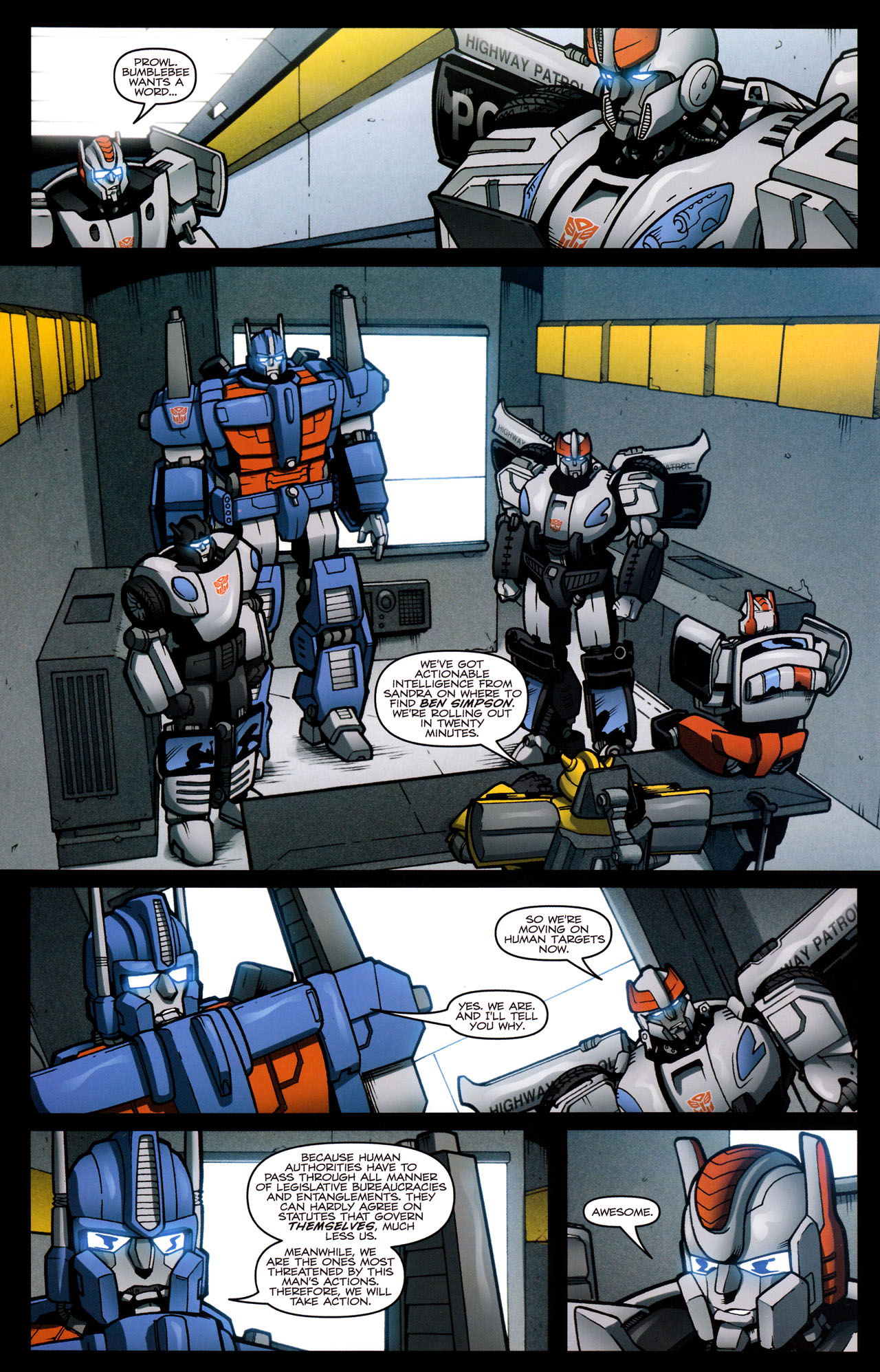 Read online The Transformers (2009) comic -  Issue #29 - 10