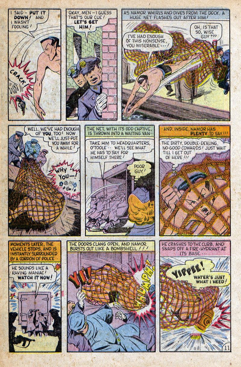 Sub-Mariner Comics #32 #32 - English 31