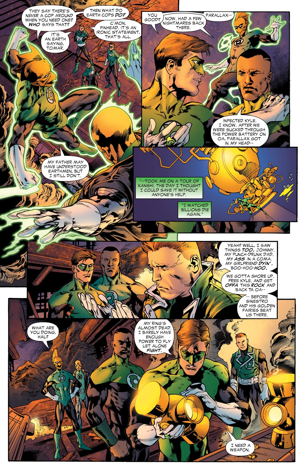 Green Lantern: The Sinestro Corps War Full #1 - English 142