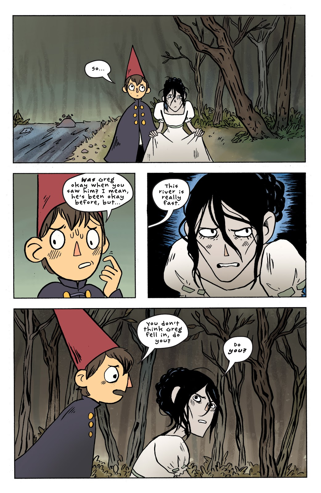 Over the Garden Wall (2016) Issue #7 #7 - English 19