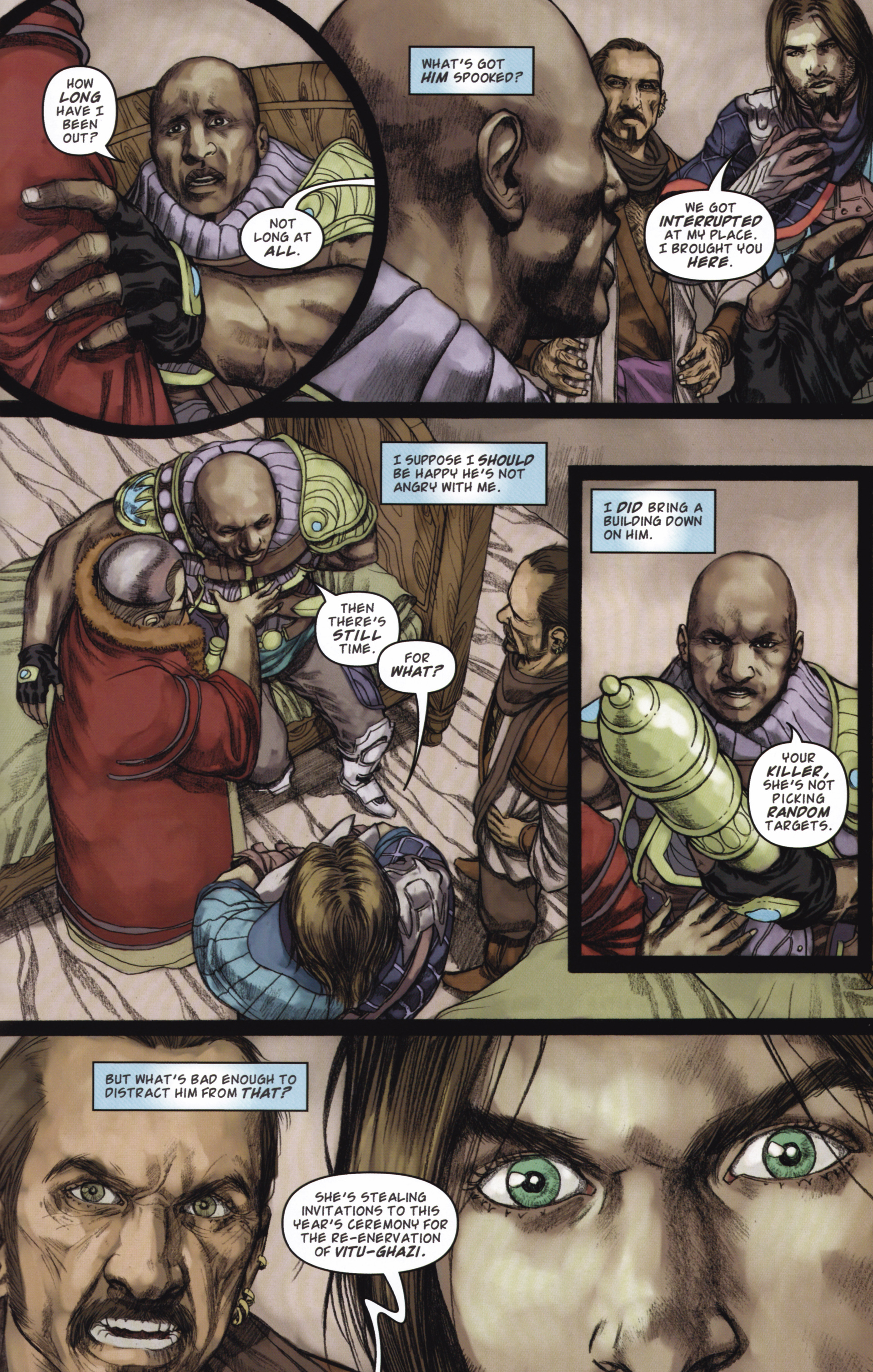 Read online Magic: The Gathering--Path of Vengeance comic -  Issue #2 - 21
