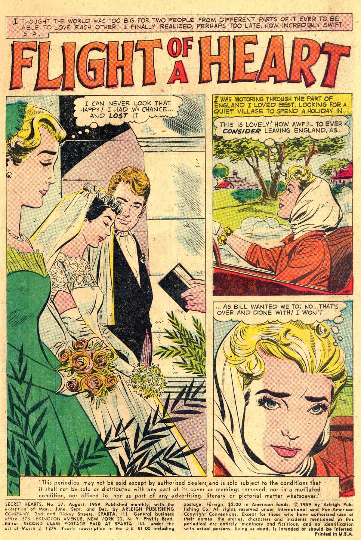 Read online Secret Hearts comic -  Issue #57 - 3