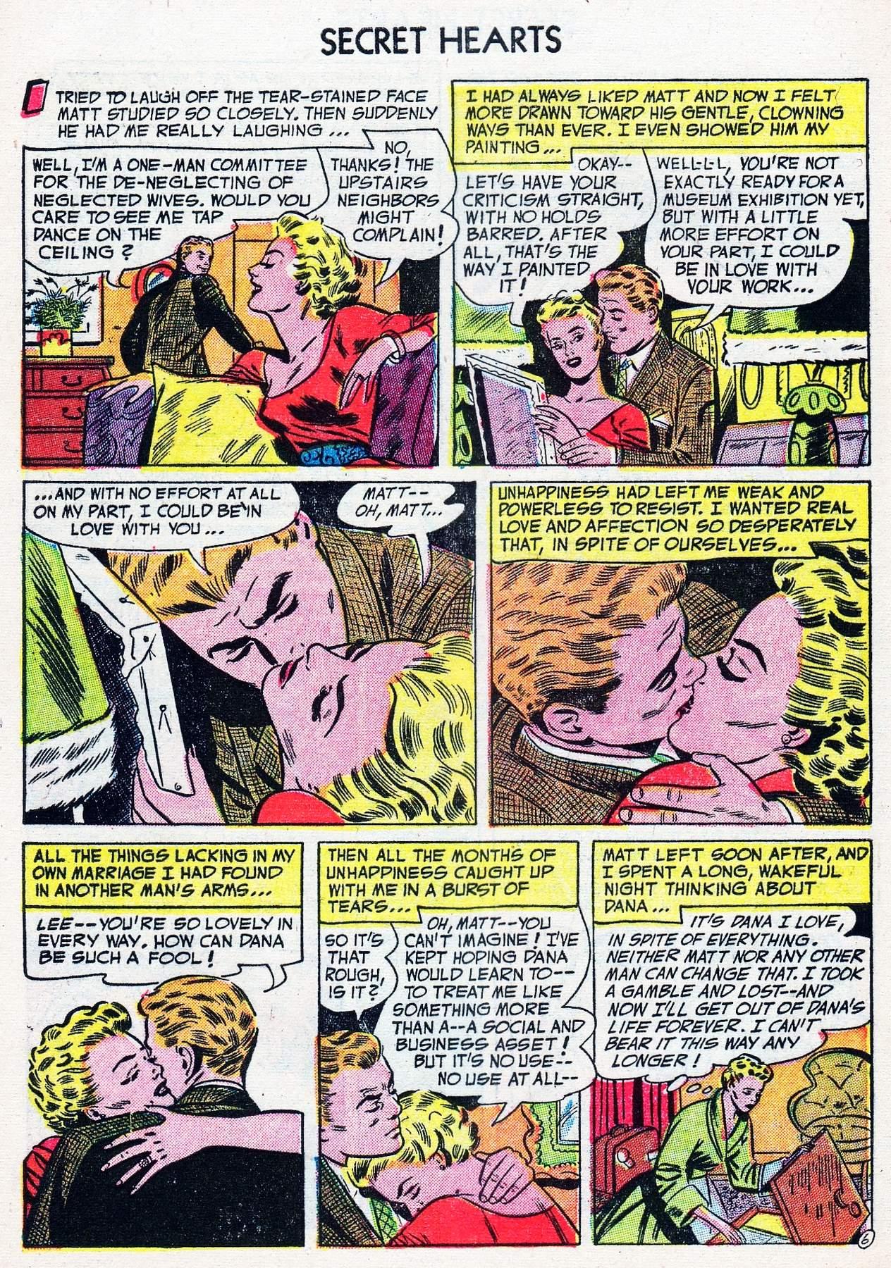 Read online Secret Hearts comic -  Issue #16 - 8