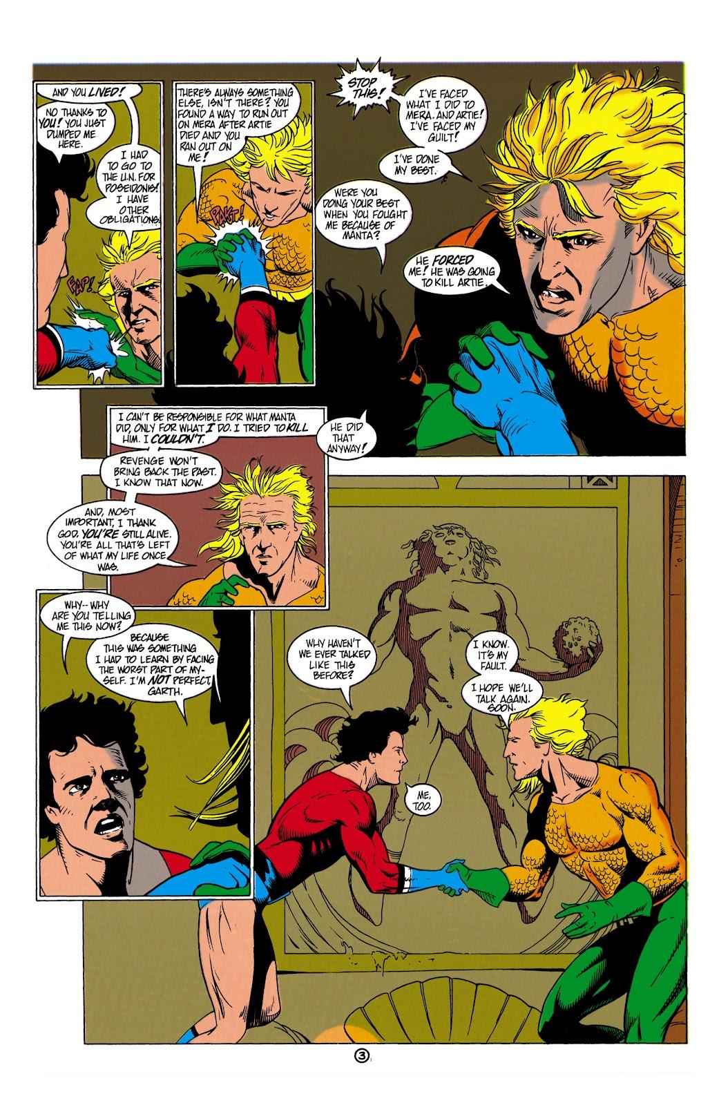 Aquaman (1991) Issue #8 #8 - English 4