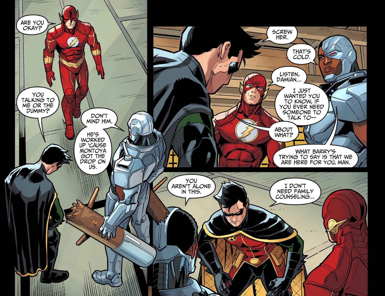 Injustice: Gods Among Us Year Four Issue #6 #7 - English 5