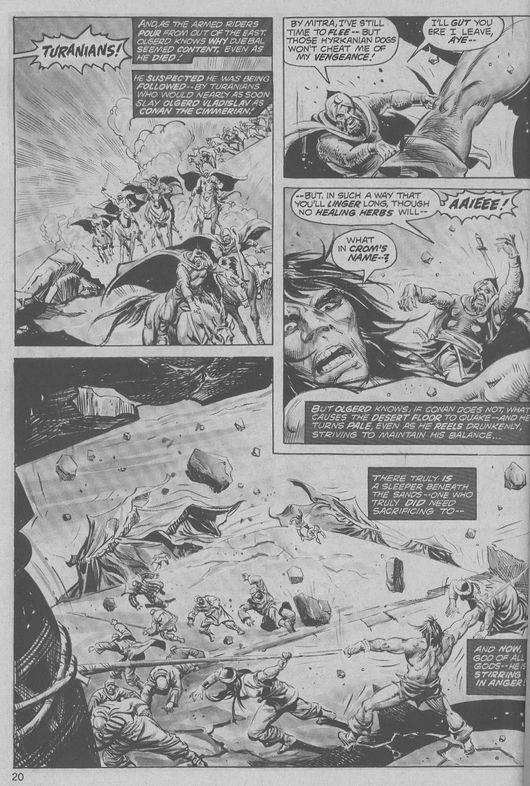 The Savage Sword Of Conan Issue #6 #7 - English 20