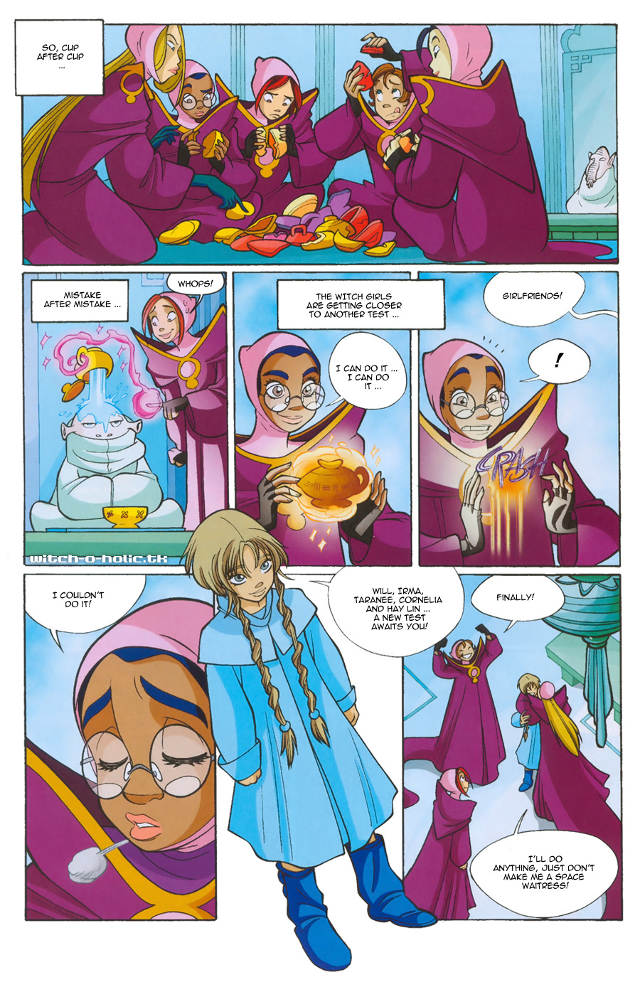 Read online W.i.t.c.h. comic -  Issue #135 - 4