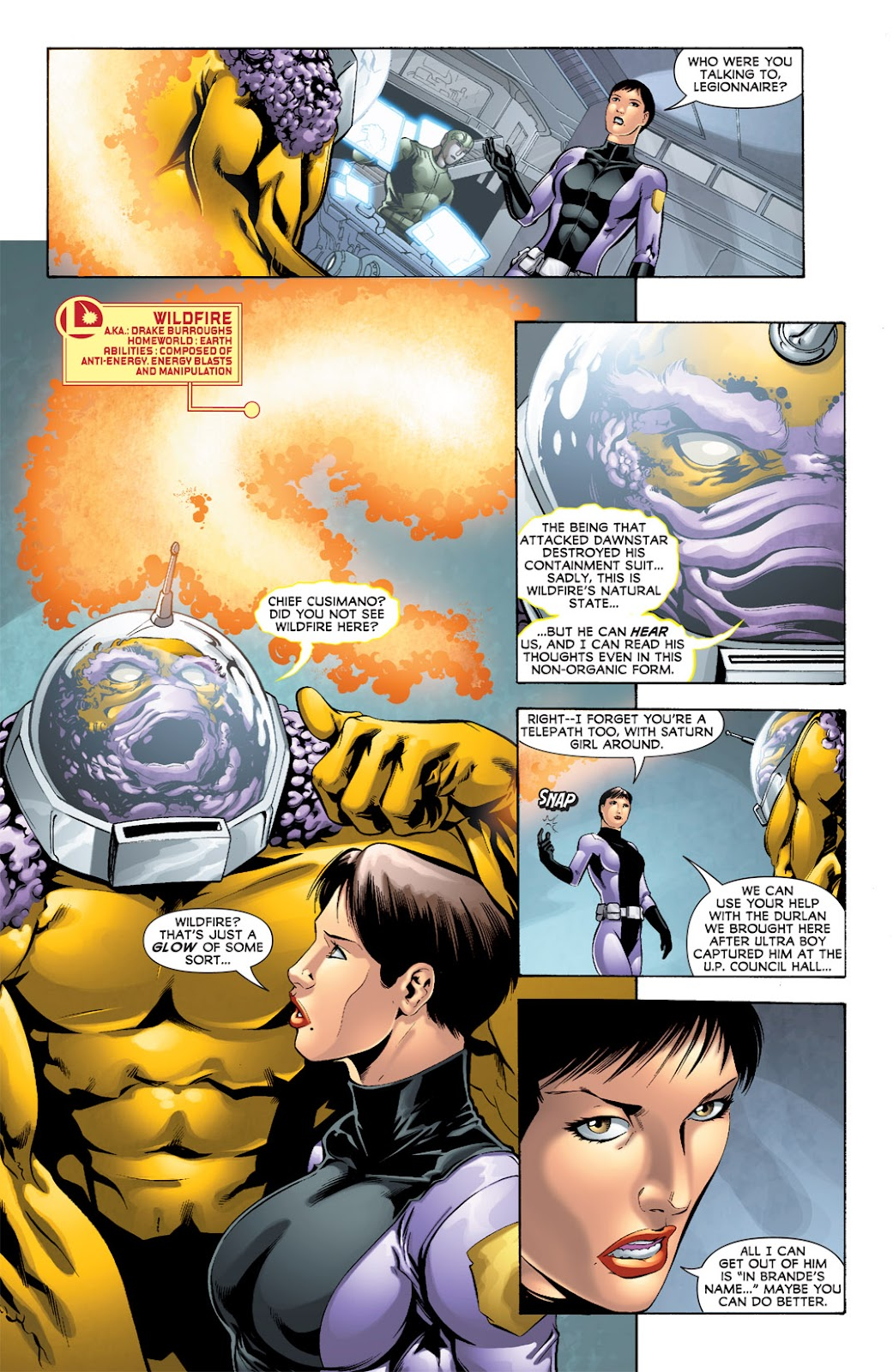 Legion of Super-Heroes (2010) Issue #8 #9 - English 8