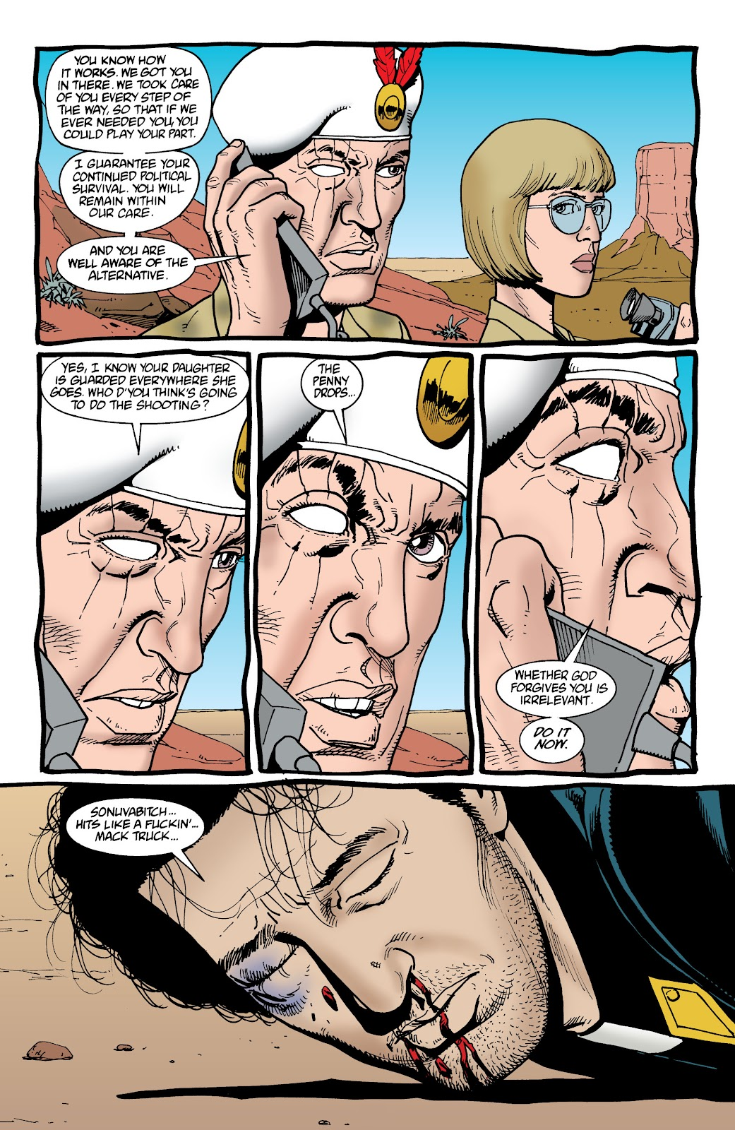 Preacher Issue #37 #46 - English 4