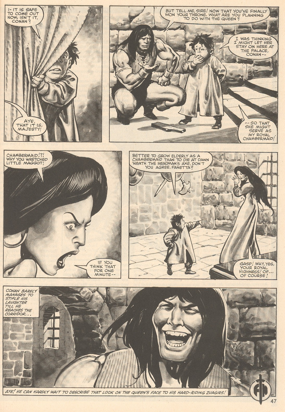The Savage Sword Of Conan Issue #76 #77 - English 47