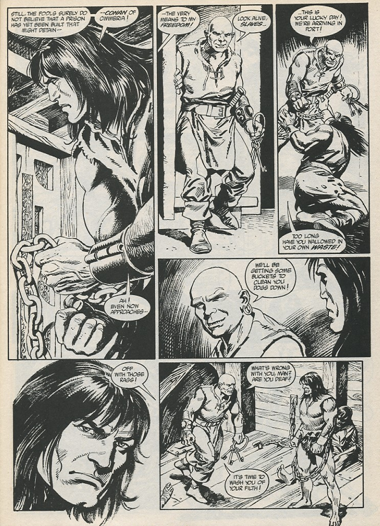 The Savage Sword Of Conan Issue #189 #190 - English 5
