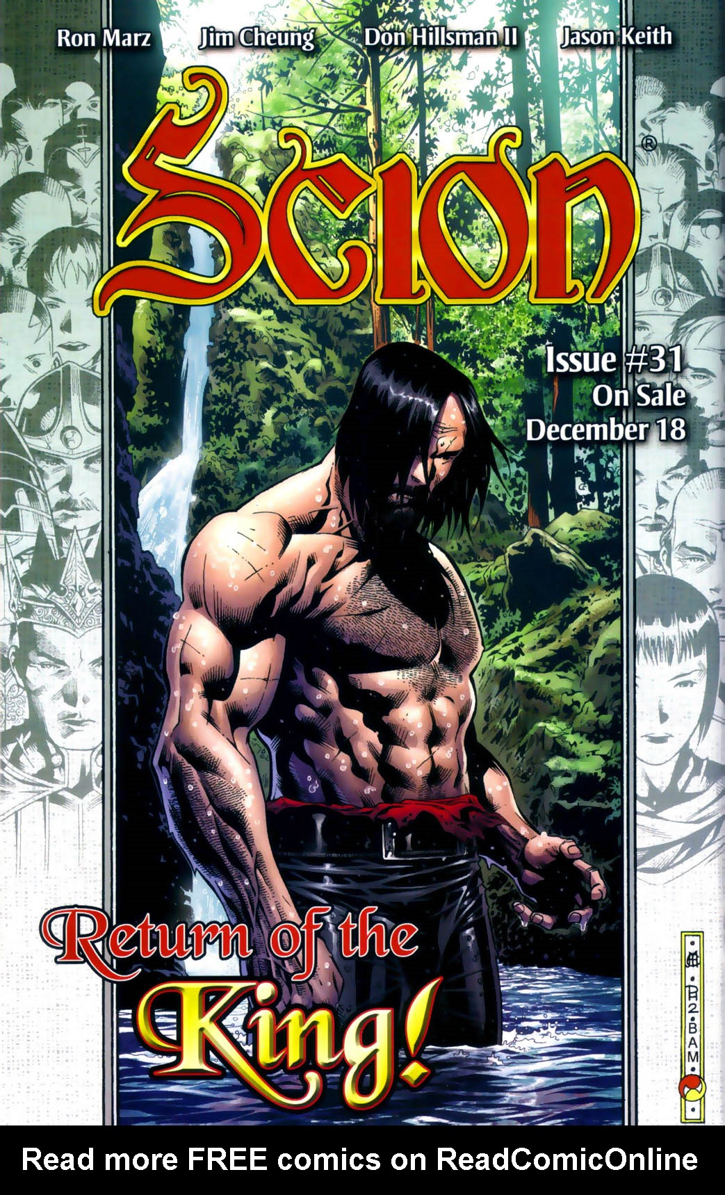 Read online Scion comic -  Issue #30 - 26