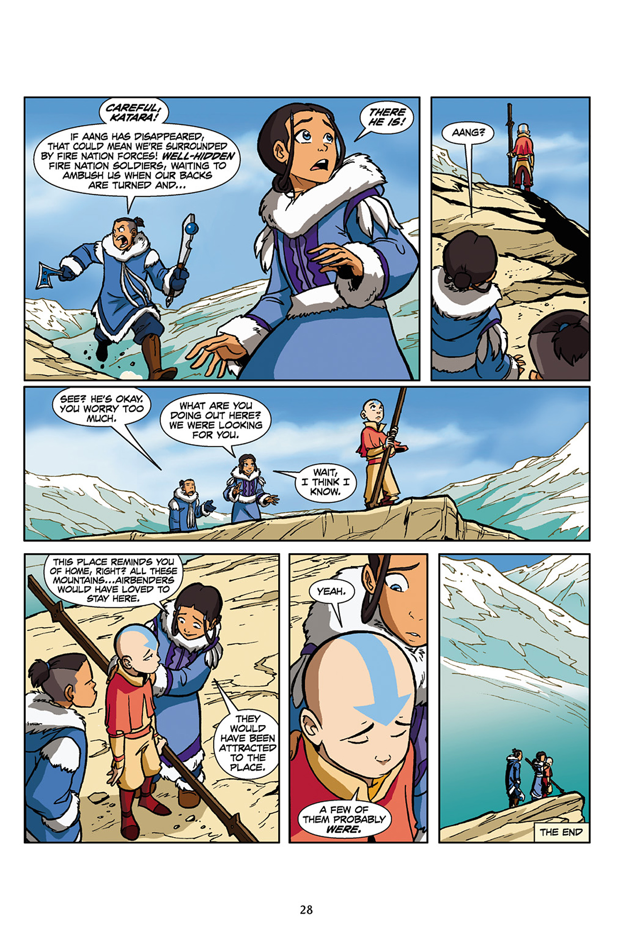 Nickelodeon Avatar: The Last Airbender - The Lost Adventures chap full pic 29
