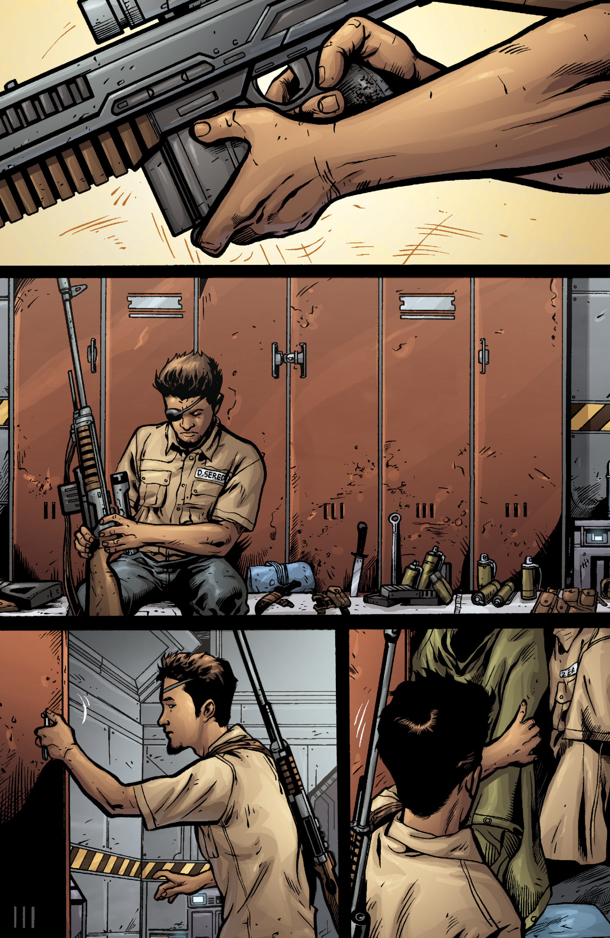 Aliens (2009) TPB Page 40
