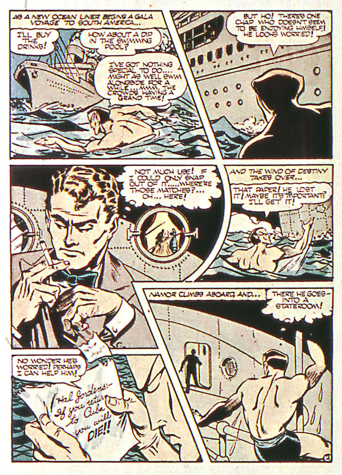 Sub-Mariner Comics Issue #16 #16 - English 16