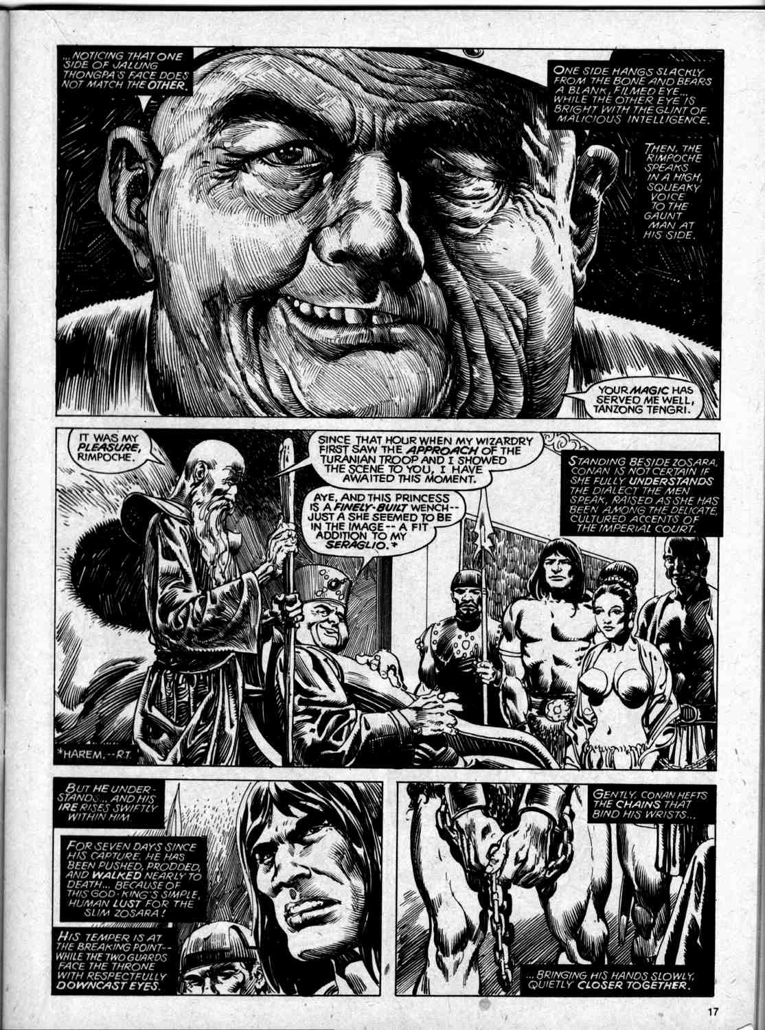 The Savage Sword Of Conan Issue #59 #60 - English 17