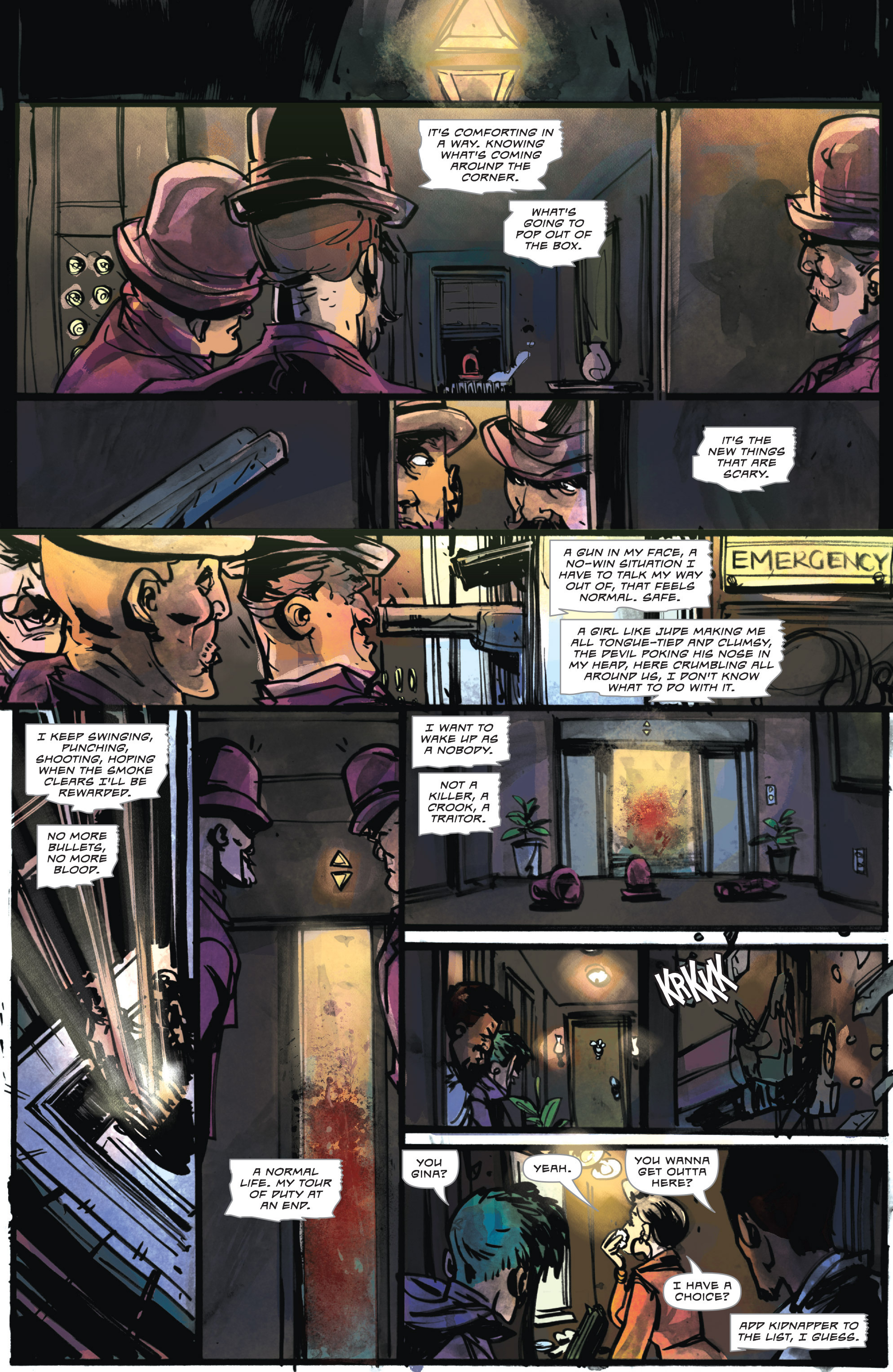 Read online Dead Letters comic -  Issue #11 - 9