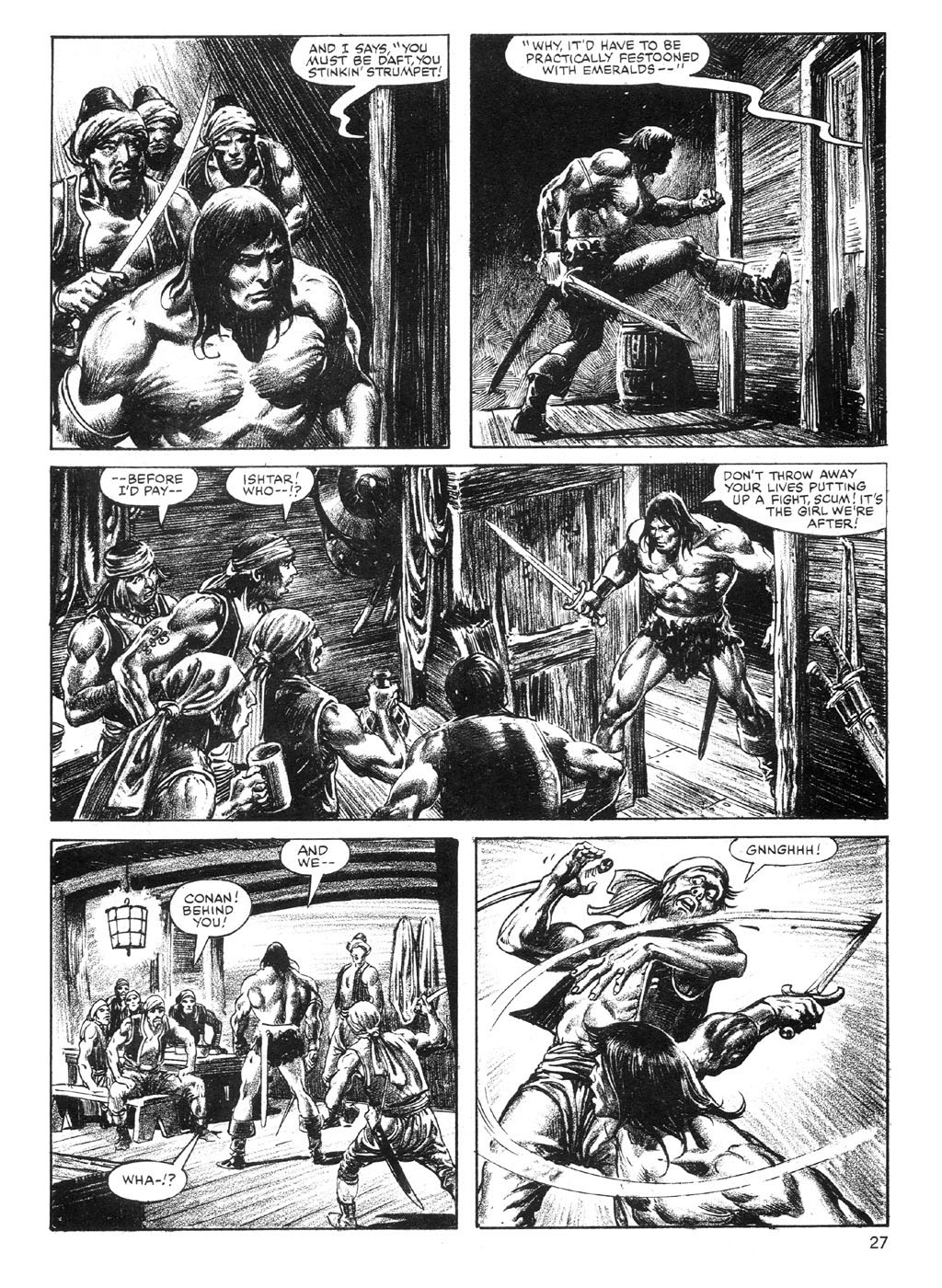 The Savage Sword Of Conan Issue #89 #90 - English 27