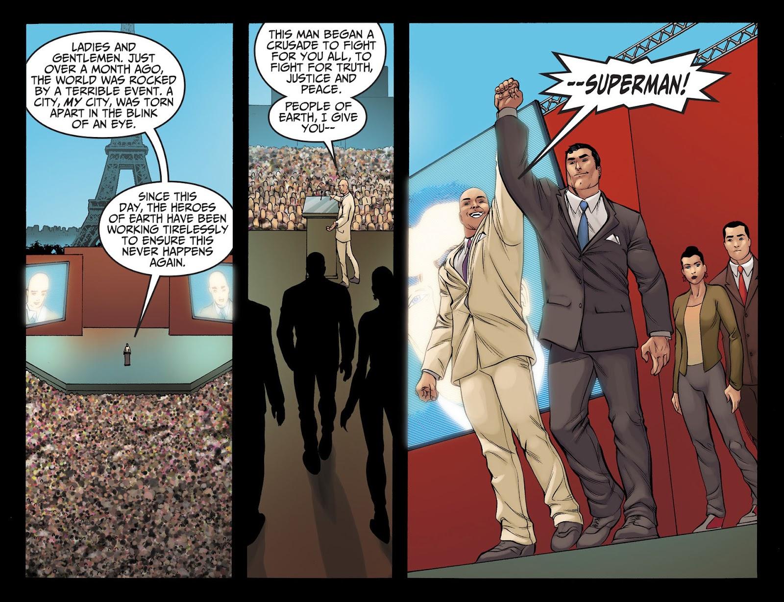 Injustice: Gods Among Us [I] Issue #22 #23 - English 16