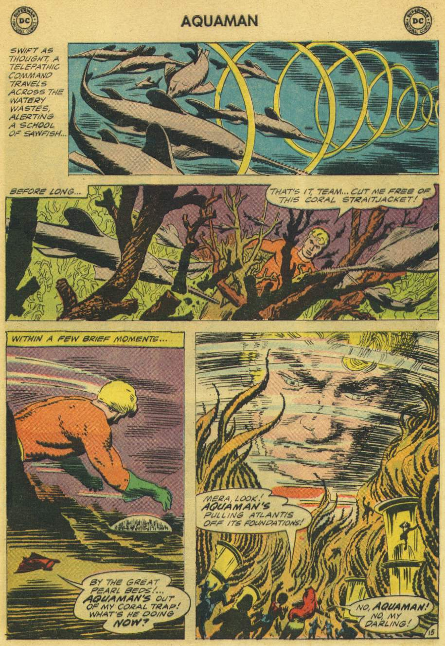 Aquaman (1962) Issue #21 #21 - English 21