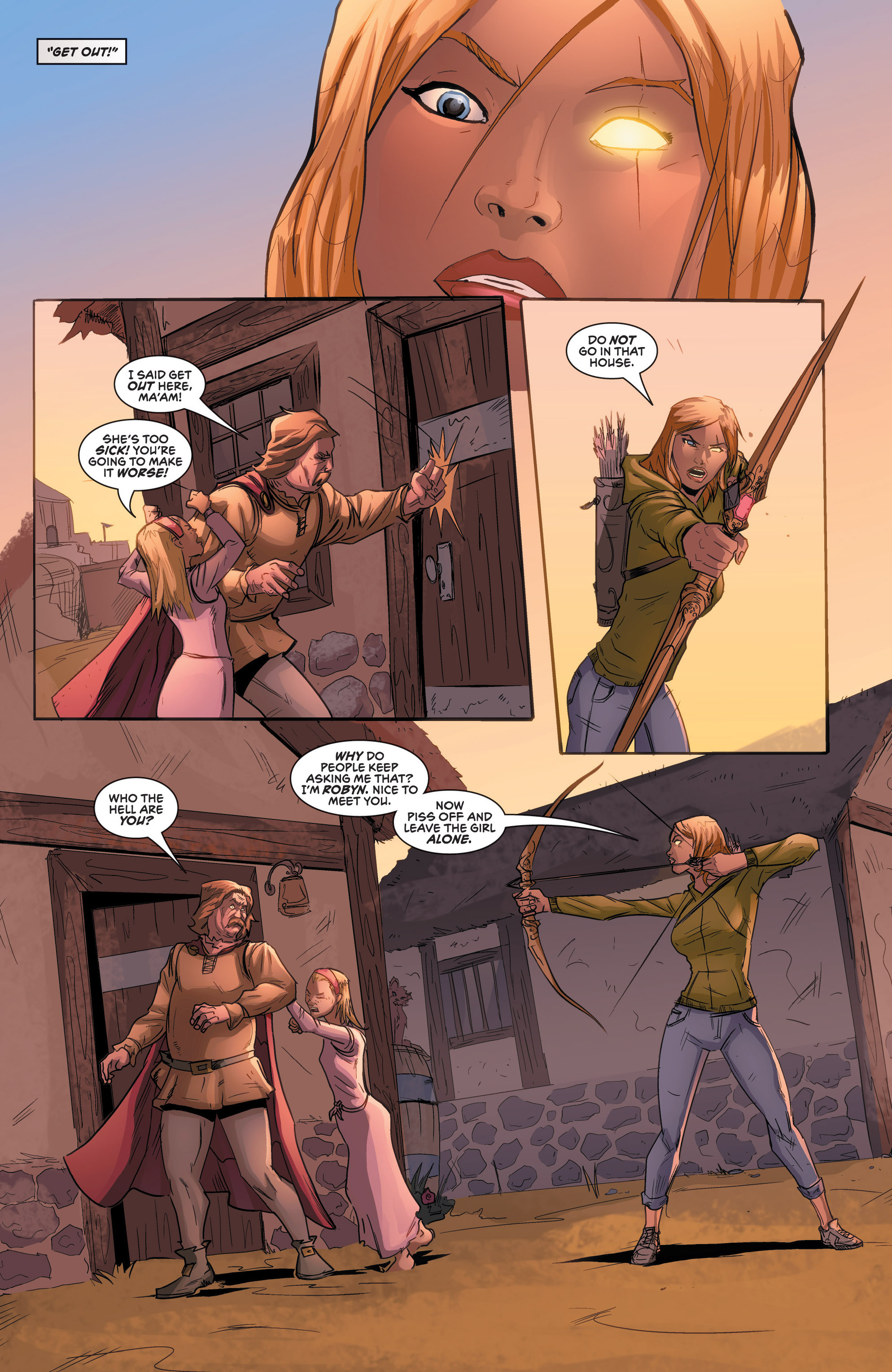 Read online Grimm Fairy Tales presents Robyn Hood (2012) comic -  Issue #2 - 18