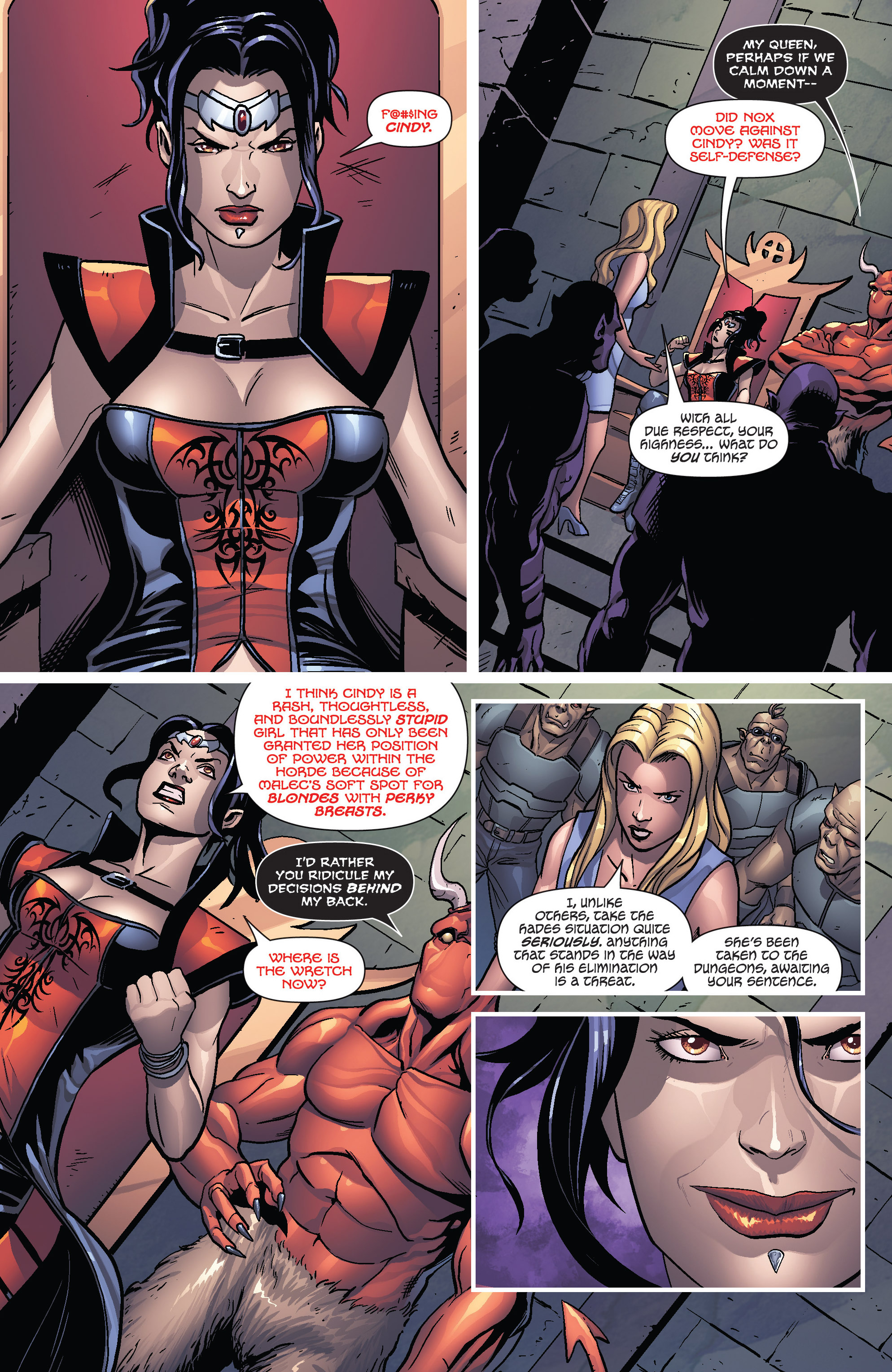 Read online Grimm Fairy Tales presents Cinderella: Age of Darkness comic -  Issue #1 - 5