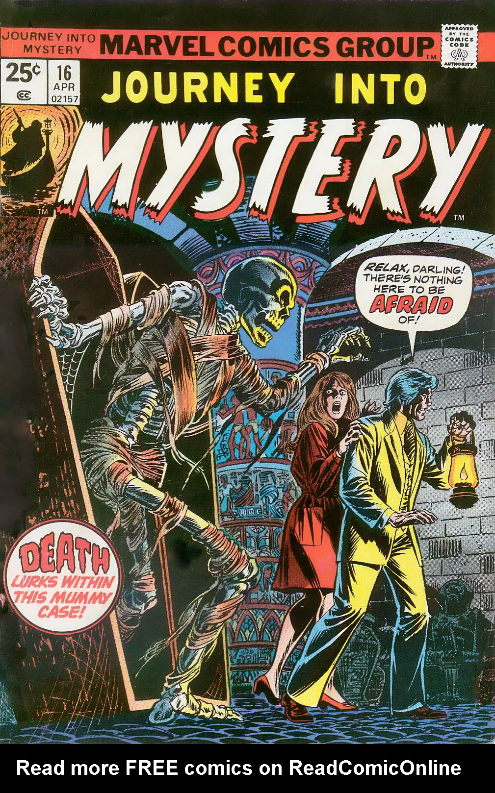 Journey Into Mystery (1972) 16 Page 1