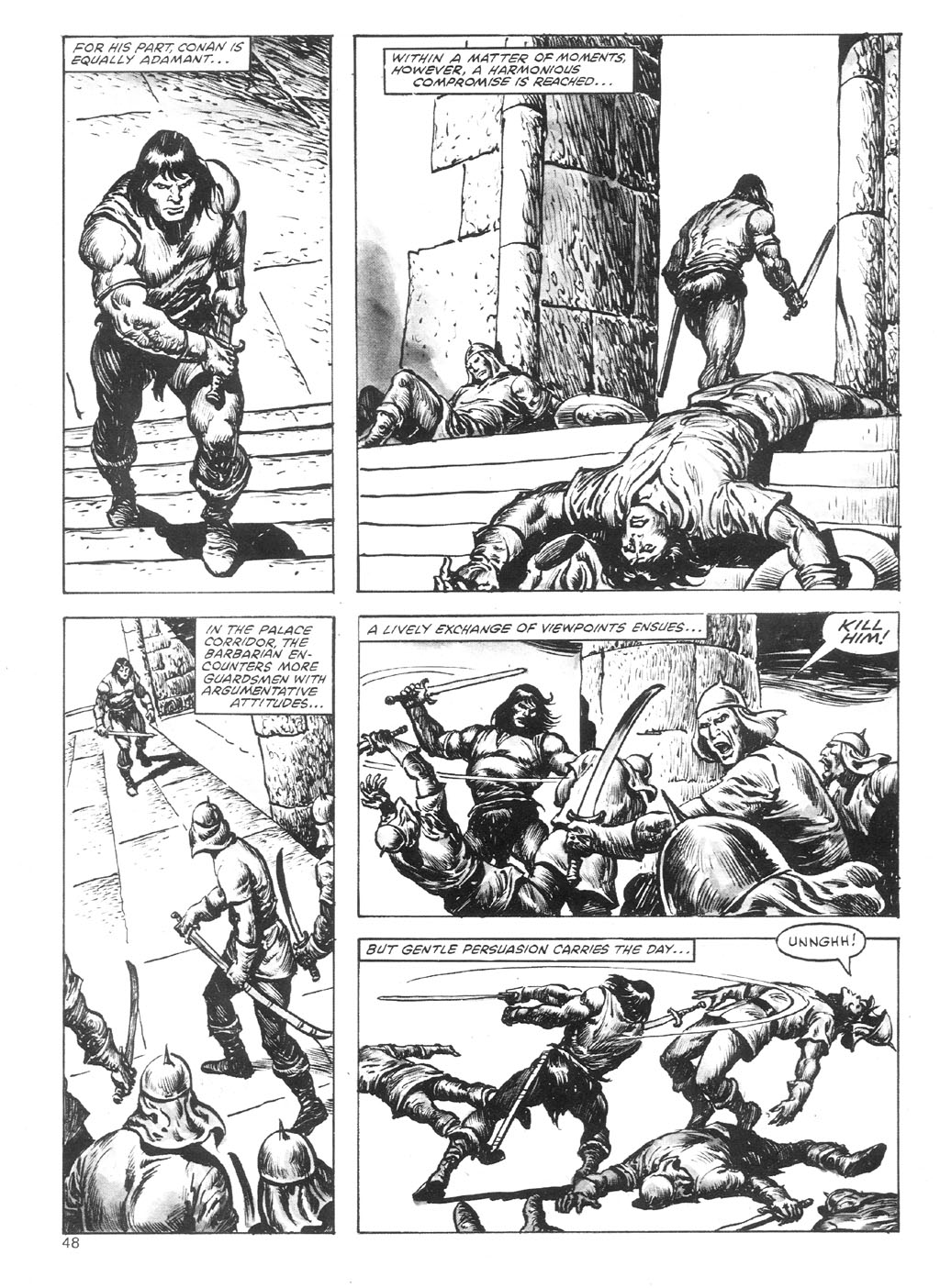 The Savage Sword Of Conan Issue #87 #88 - English 48
