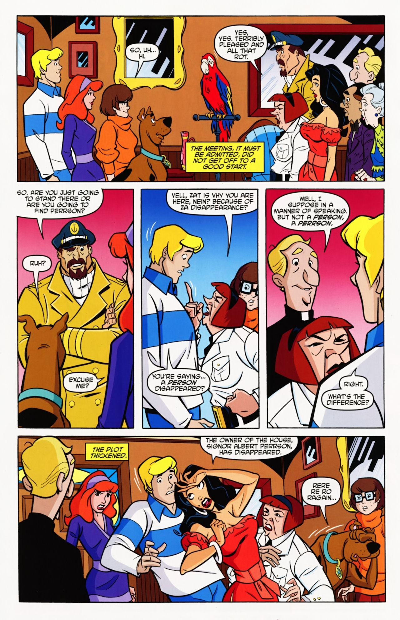Read online Scooby-Doo: Where Are You? comic -  Issue #11 - 21