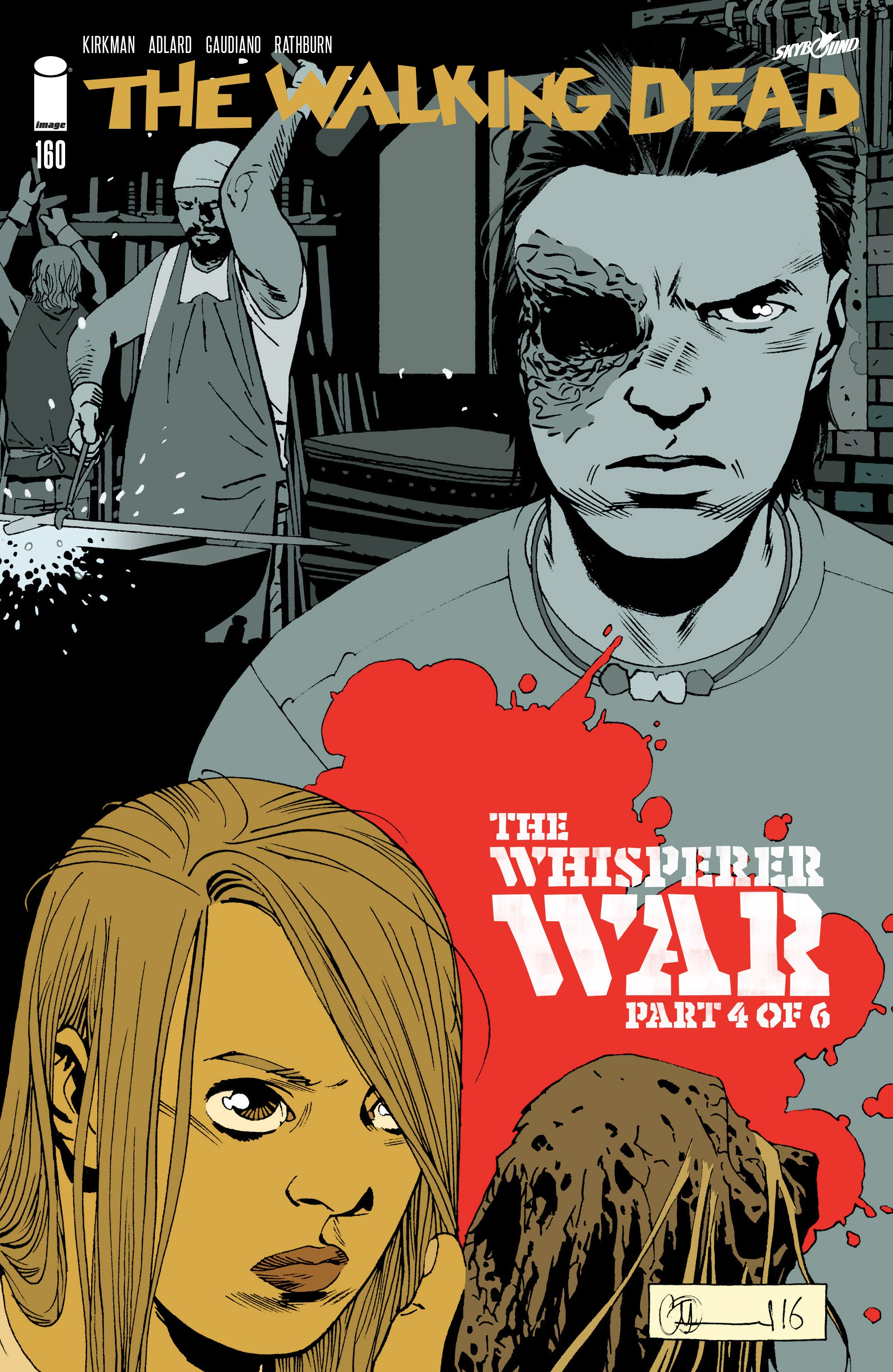 The Walking Dead 160 Page 1