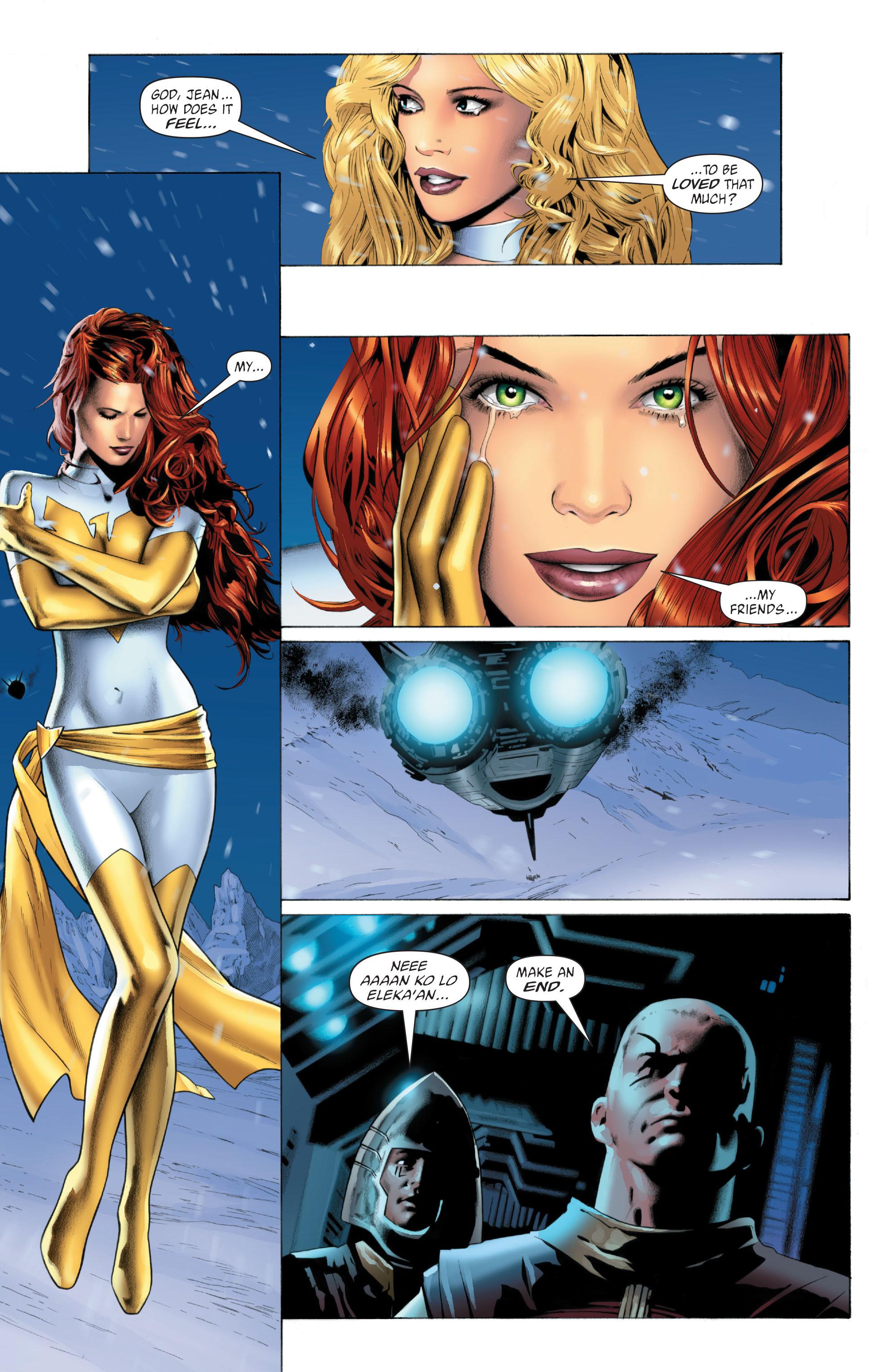 Read online X-Men: Phoenix - Endsong comic -  Issue #5 - 19