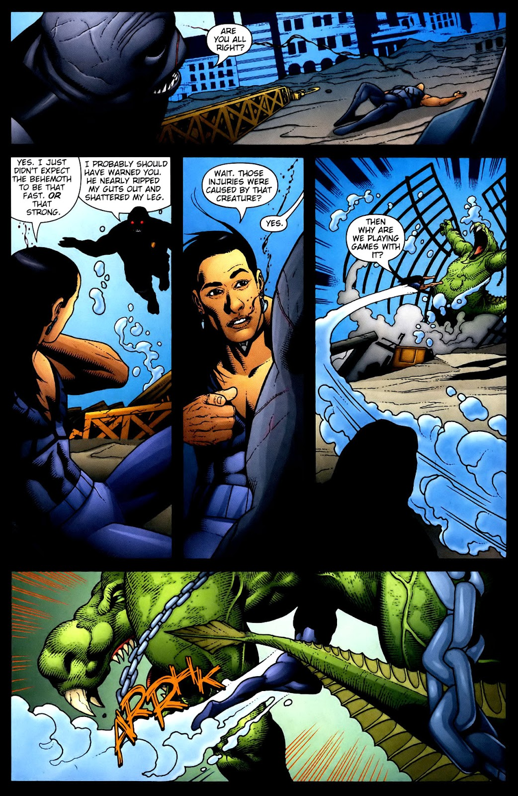 Aquaman (2003) Issue #34 #34 - English 19
