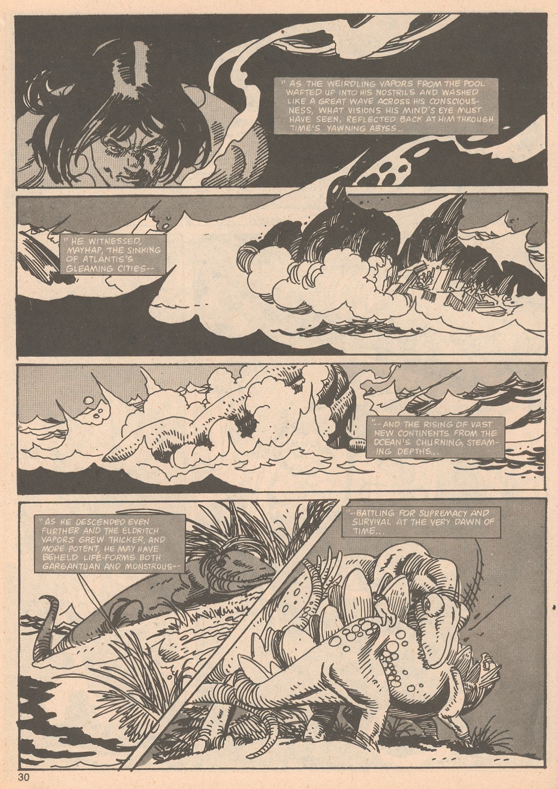 The Savage Sword Of Conan Issue #65 #66 - English 30