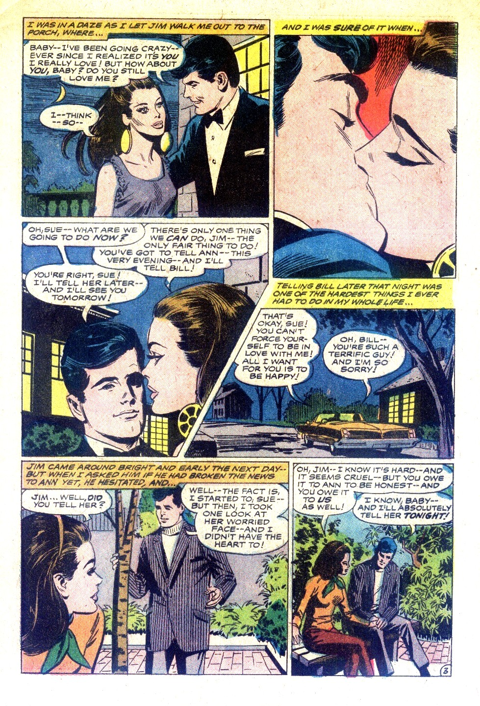 Read online Secret Hearts comic -  Issue #128 - 5