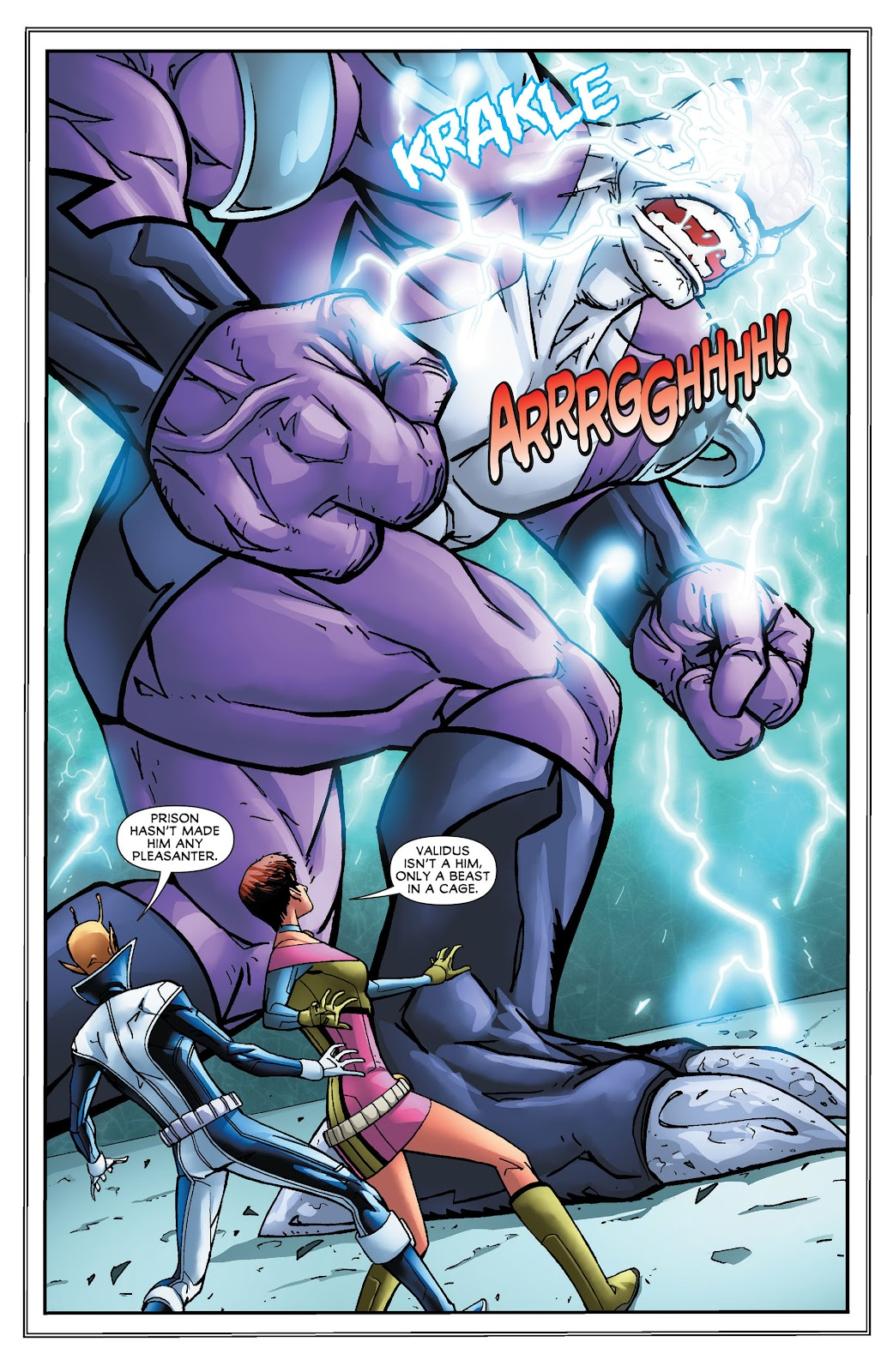 Legion of Super-Heroes (2011) Issue #16 #17 - English 8